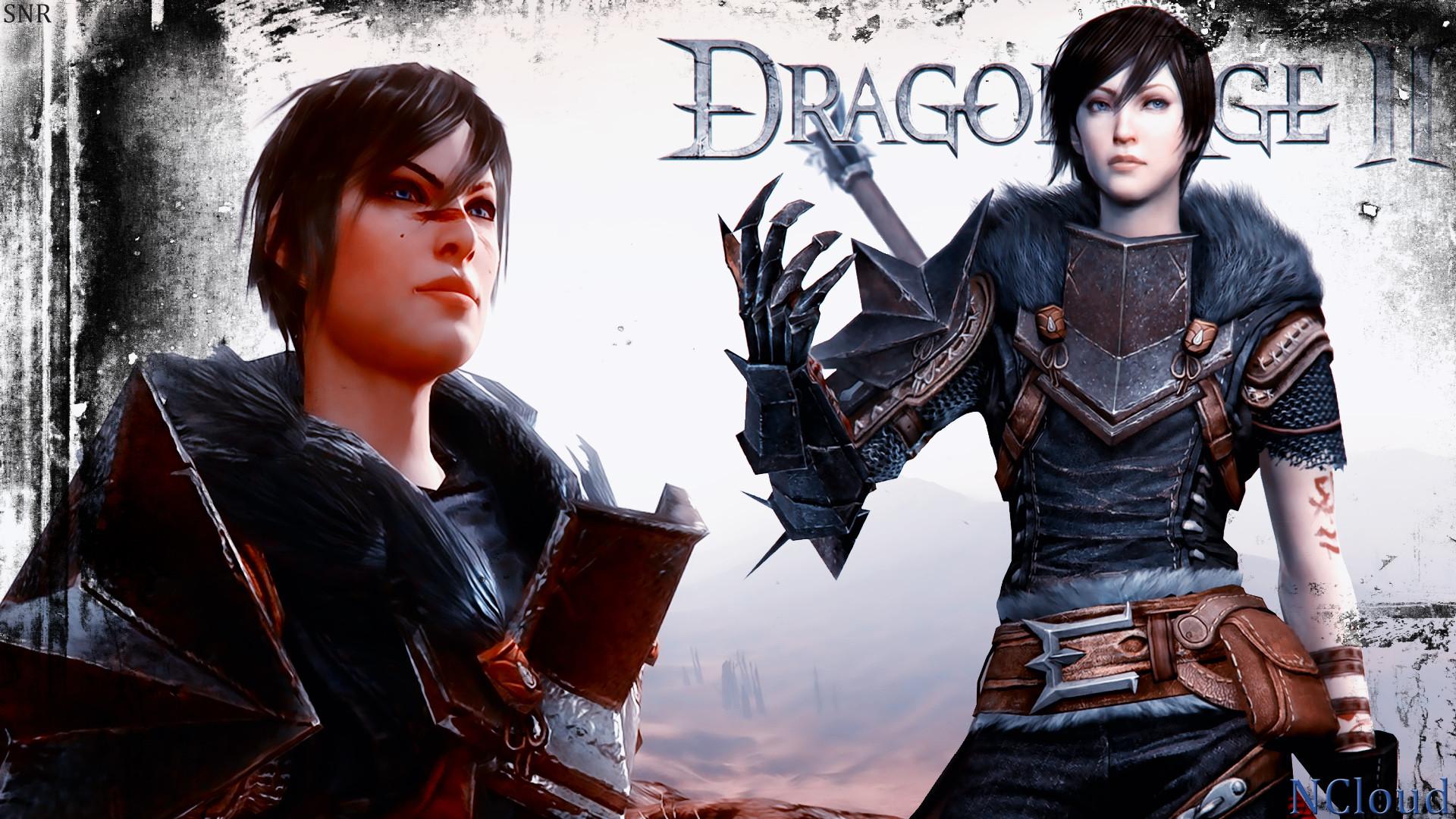 Games Movies Music Anime: My Dragon Age 2 Female Hawke Wallpaper 3