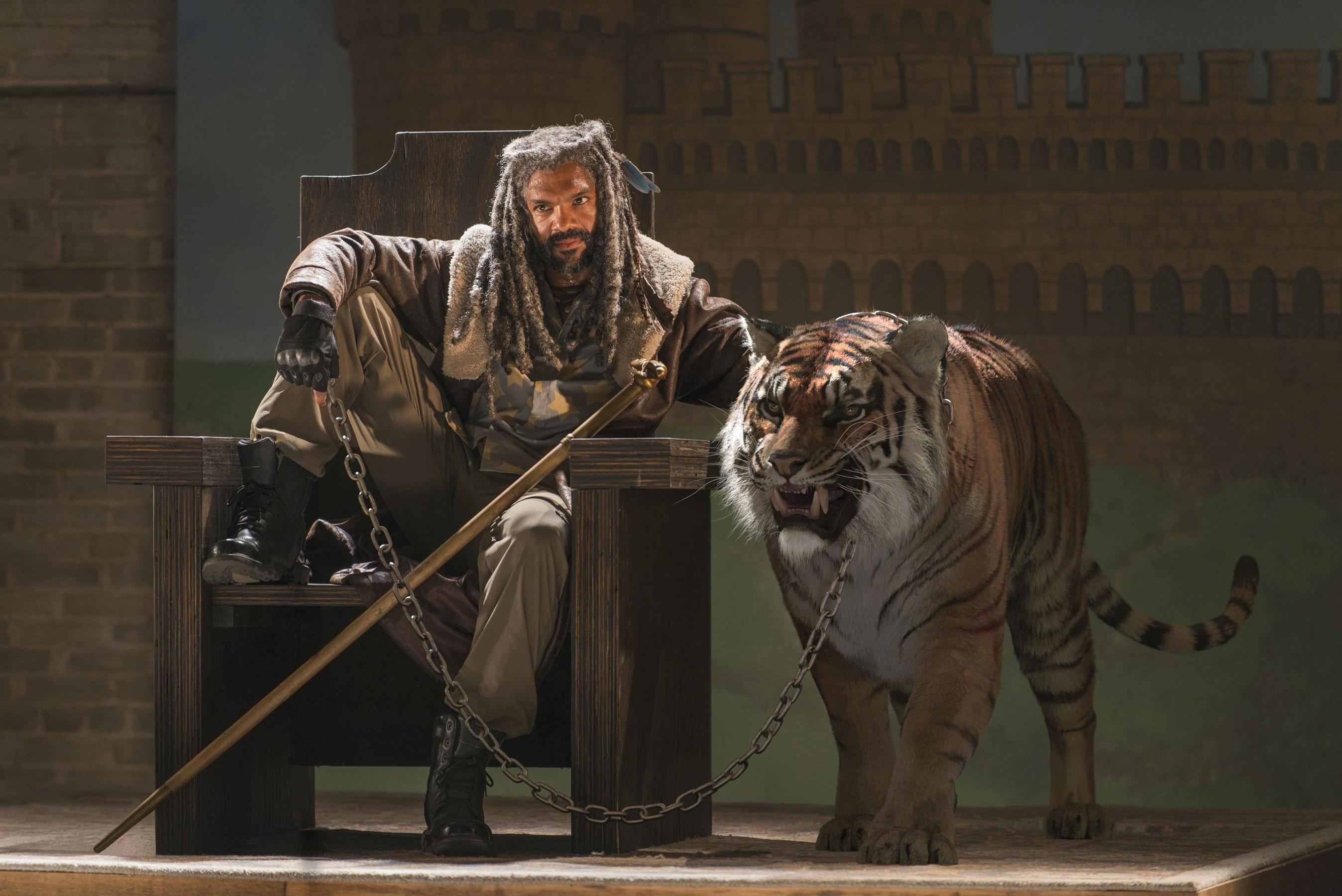 TV Series / Ezekiel Wallpaper. Ezekiel, Khary Payton, The Walking Dead,  Season 7