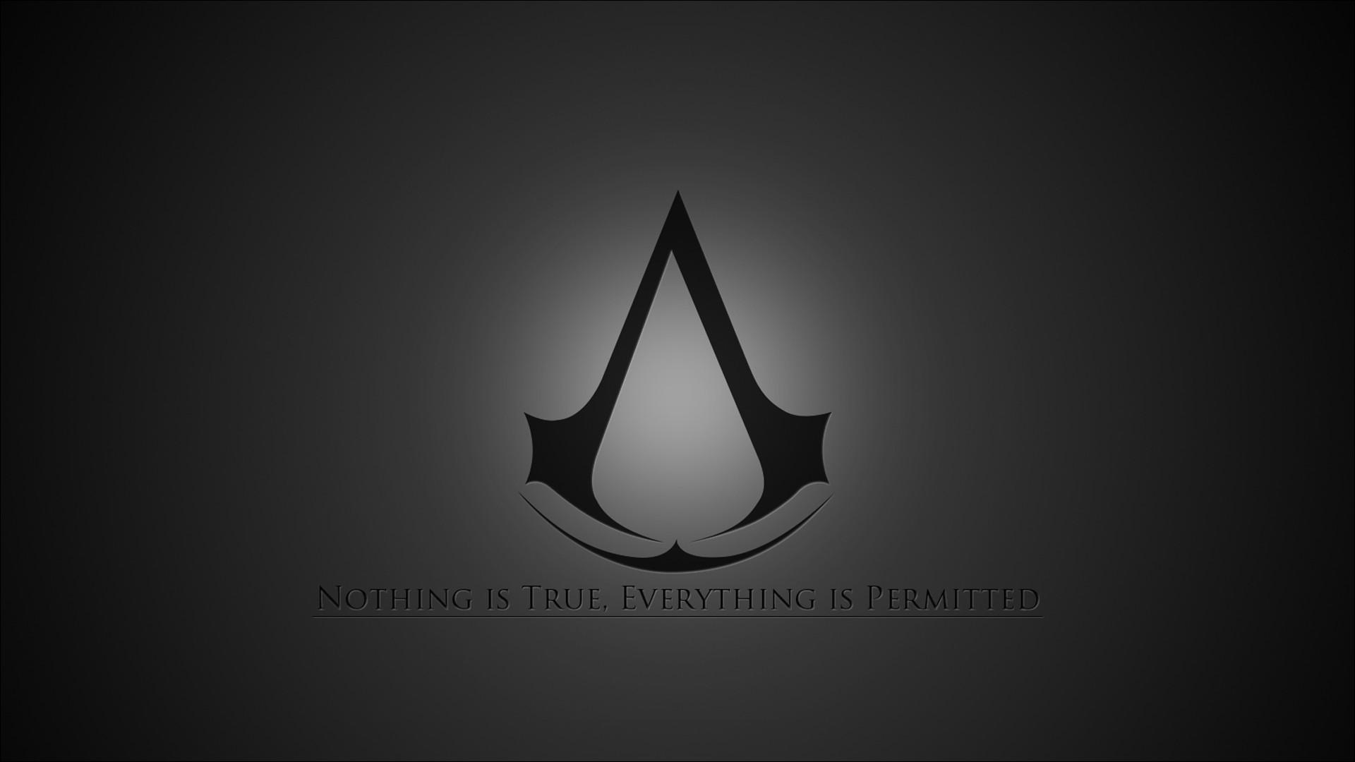 The Assassin's Creed motto wallpaper – 690975
