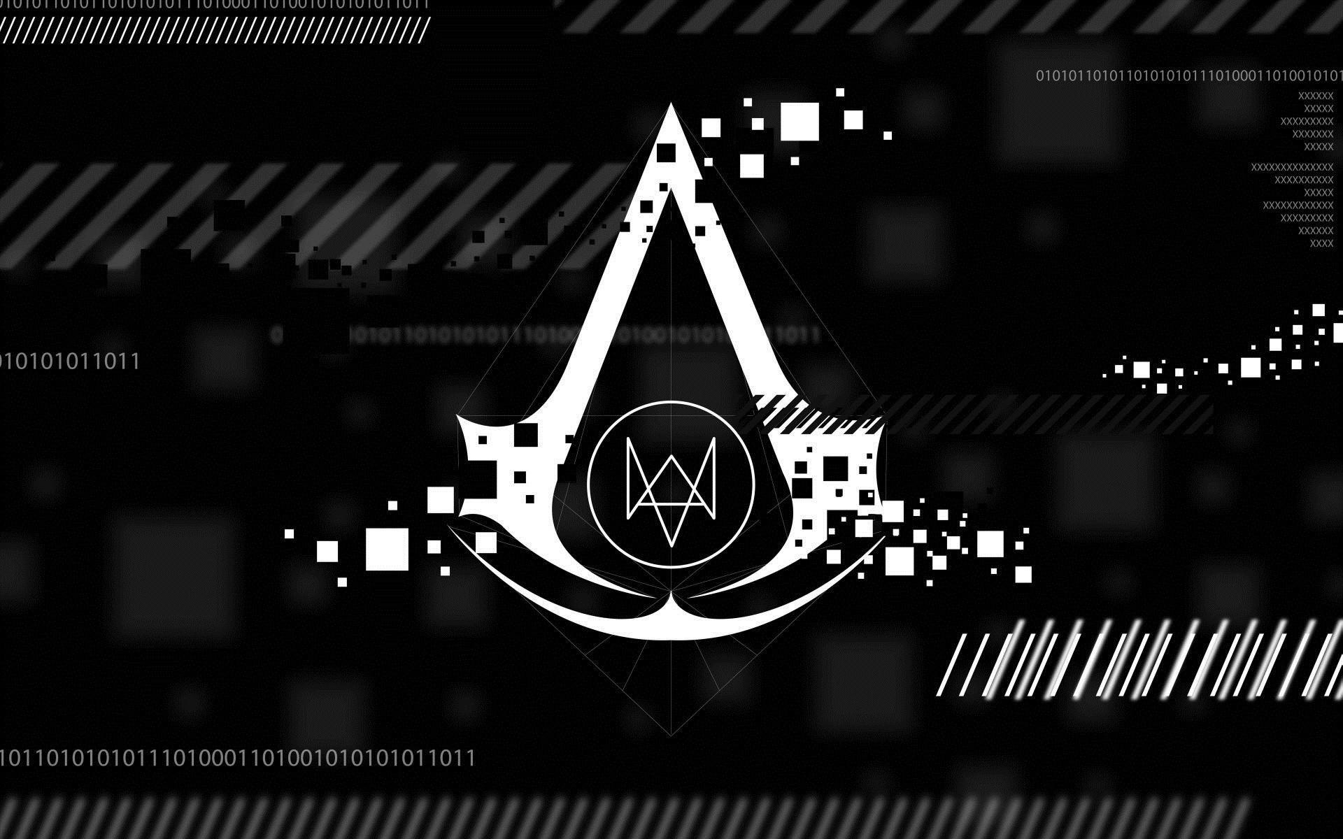 Assassin's Creed logo HD wallpaper 1