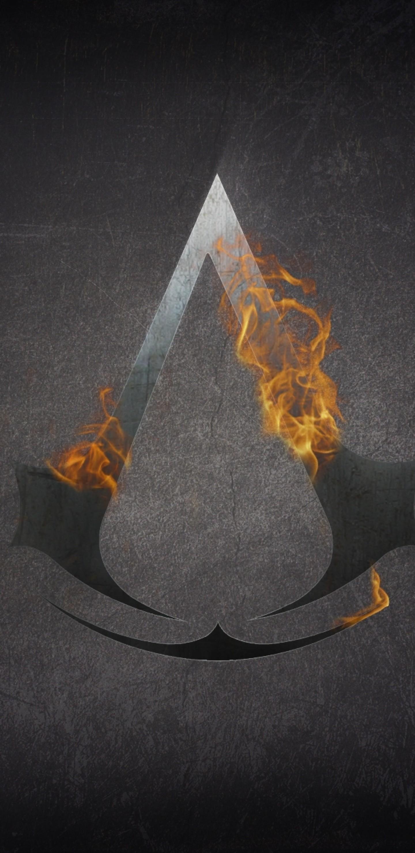 Assassin's Creed, Logo, Fire