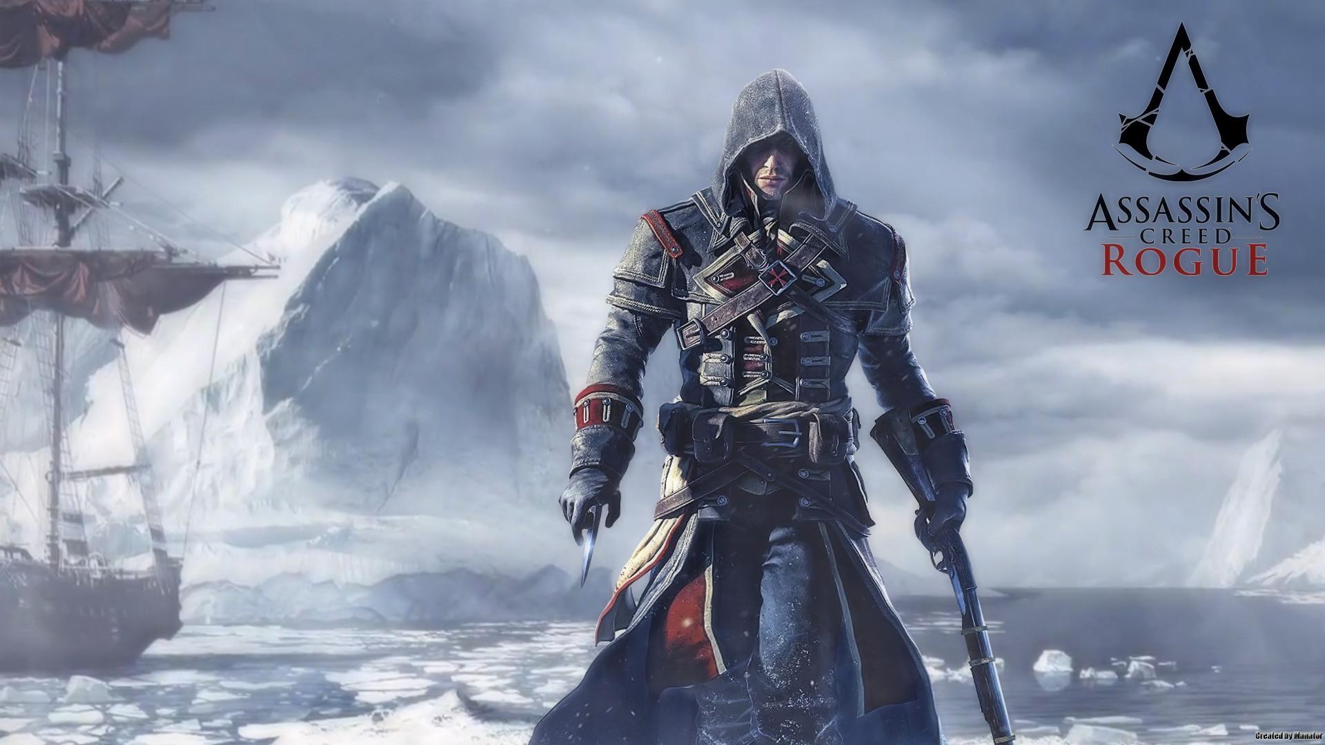 assassins-creed-rogue-logo-wallpaper-2.jpg (1920×1080) | Assassin's Creed |  Pinterest