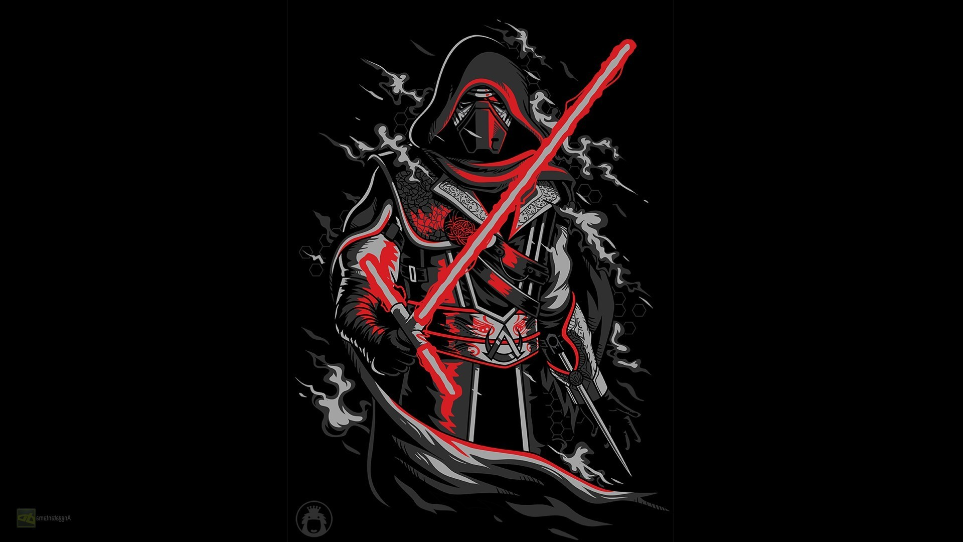 Kylo Ren, Assassins Creed, Star Wars Wallpapers HD / Desktop and Mobile  Backgrounds