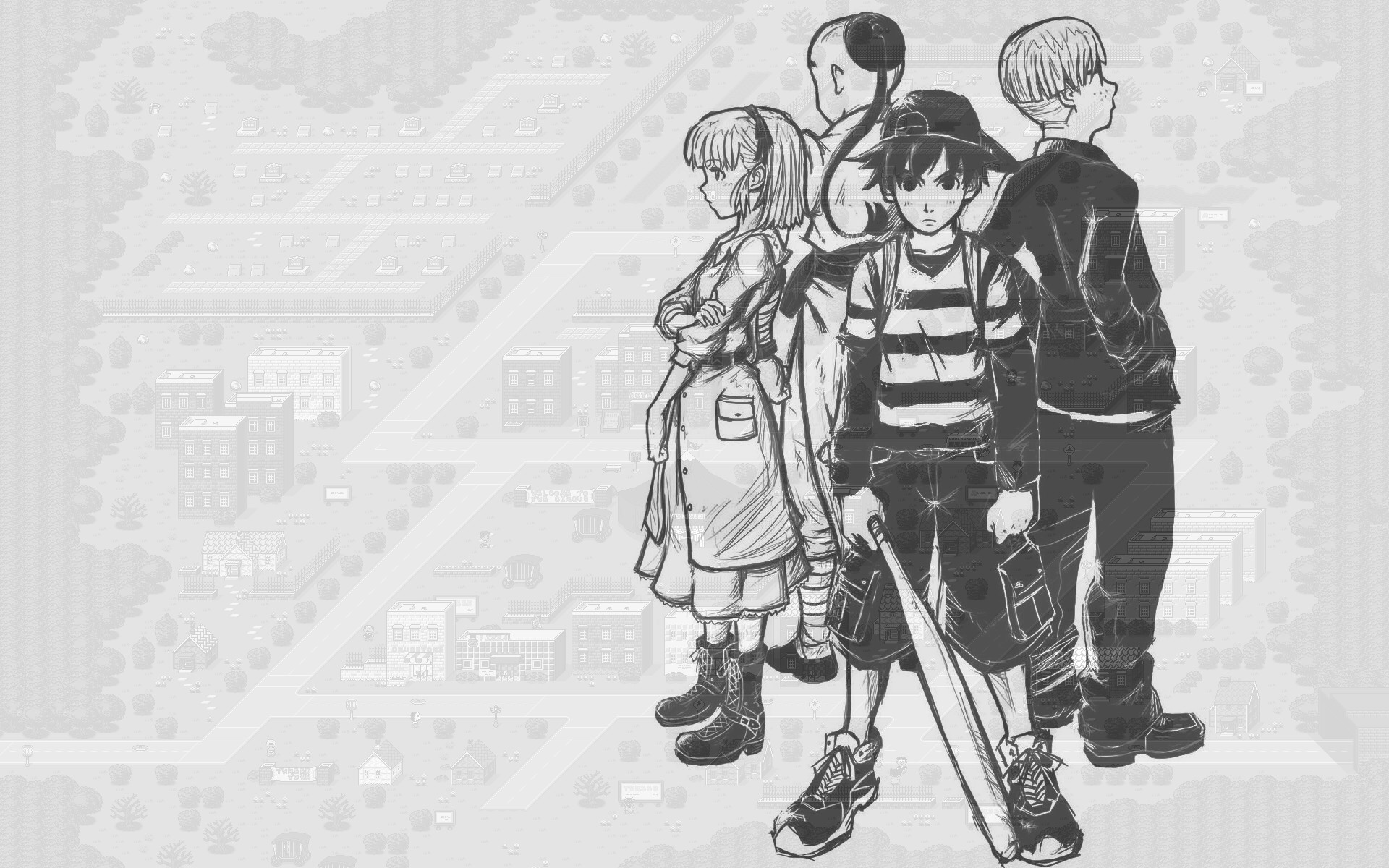 Video Game – Earthbound Wallpaper