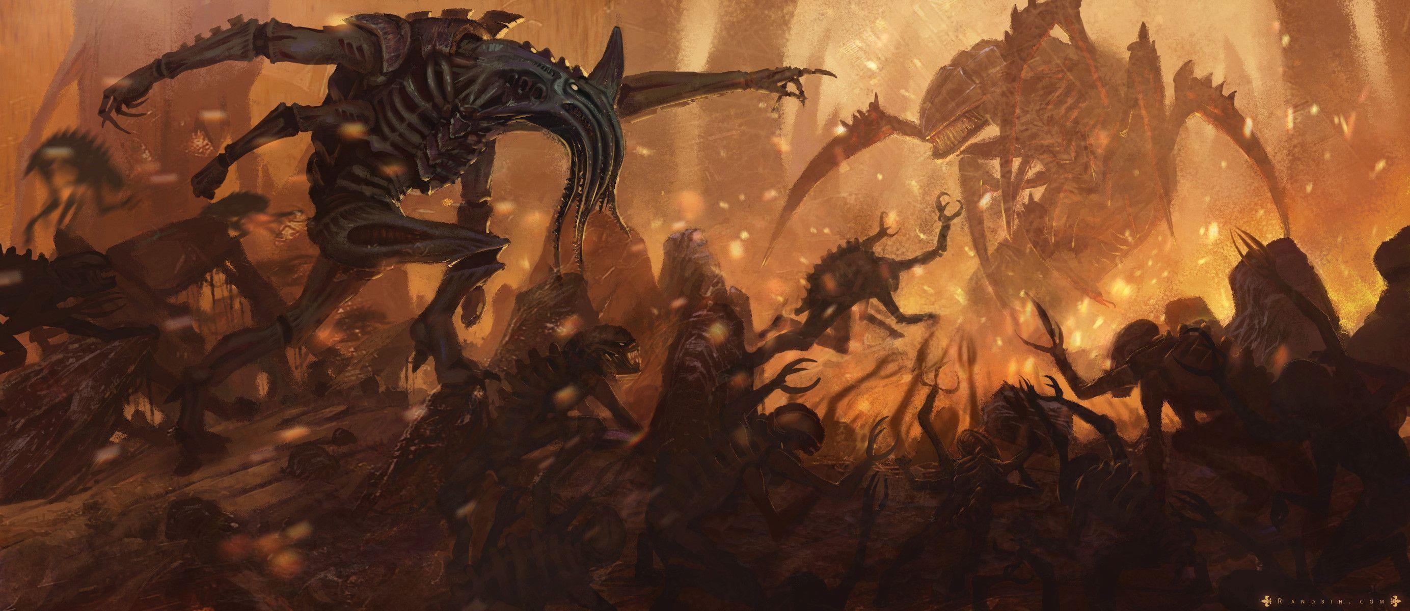 Warhammer 40K – The Tyranid Outcast Computer Wallpapers, Desktop .
