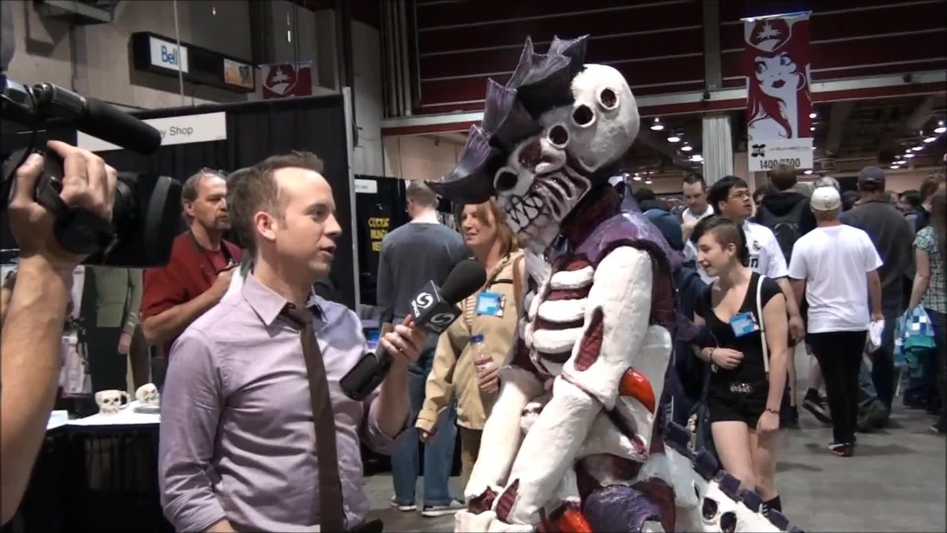 Tyranid Costume video – Warhammer 40k Tyranids Group – Mod DB