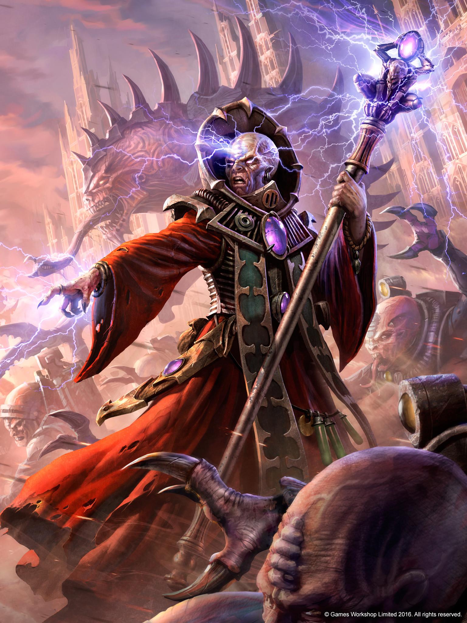 genestealer genestealer_cult tyranids wallpaper Warhammer 40k …