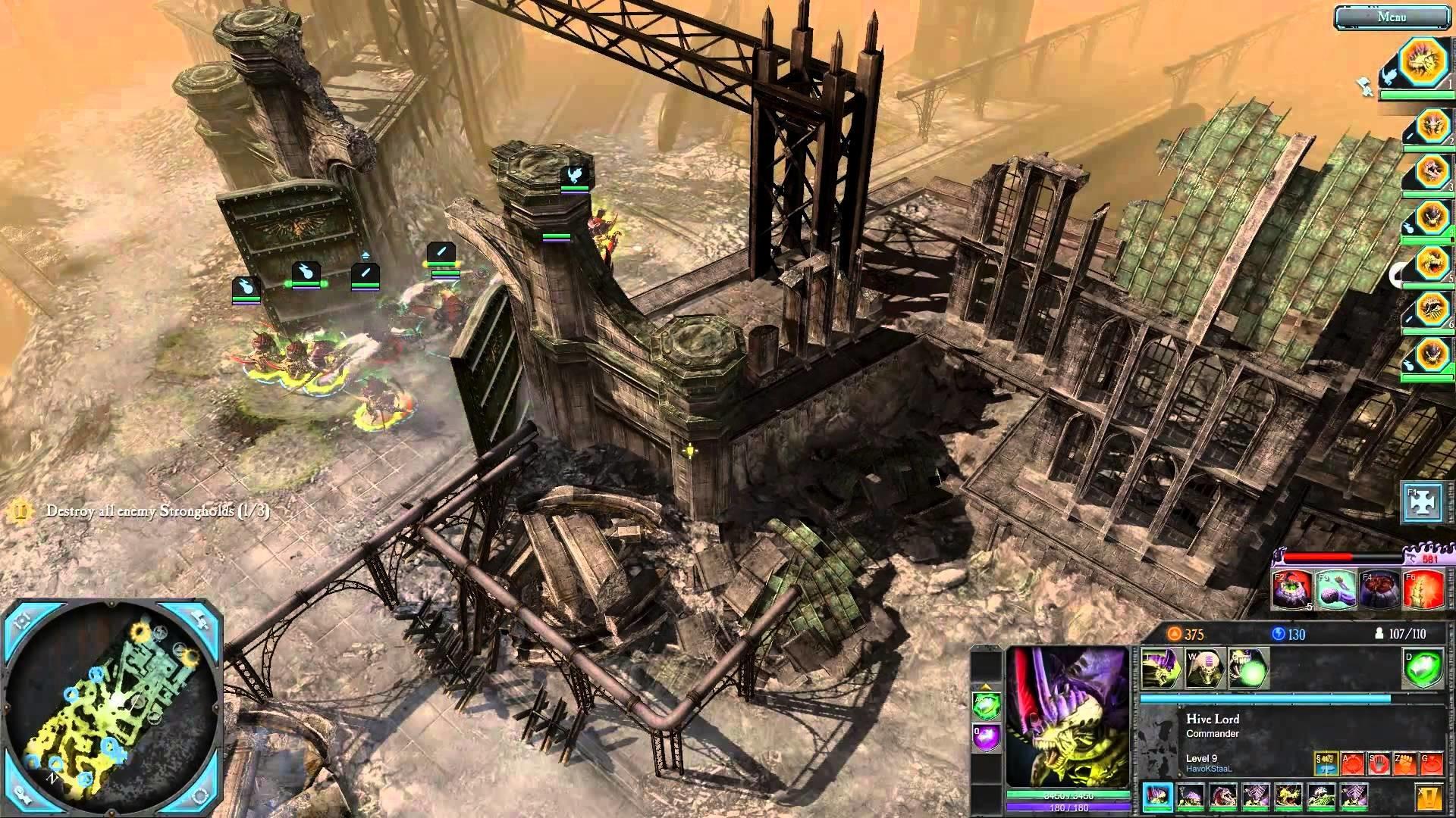 Warhammer 40k: Retribution – Tyranid Campaign / Mission 11 / Playthrough  [HD]