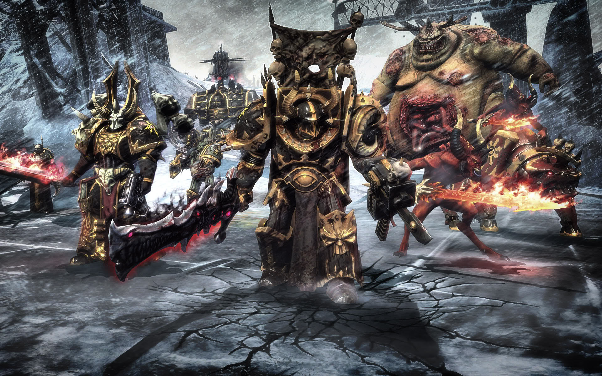CHAOS Space Marines – News Article for Fans – Warhammer 40k Tyranids Group  – Mod DB