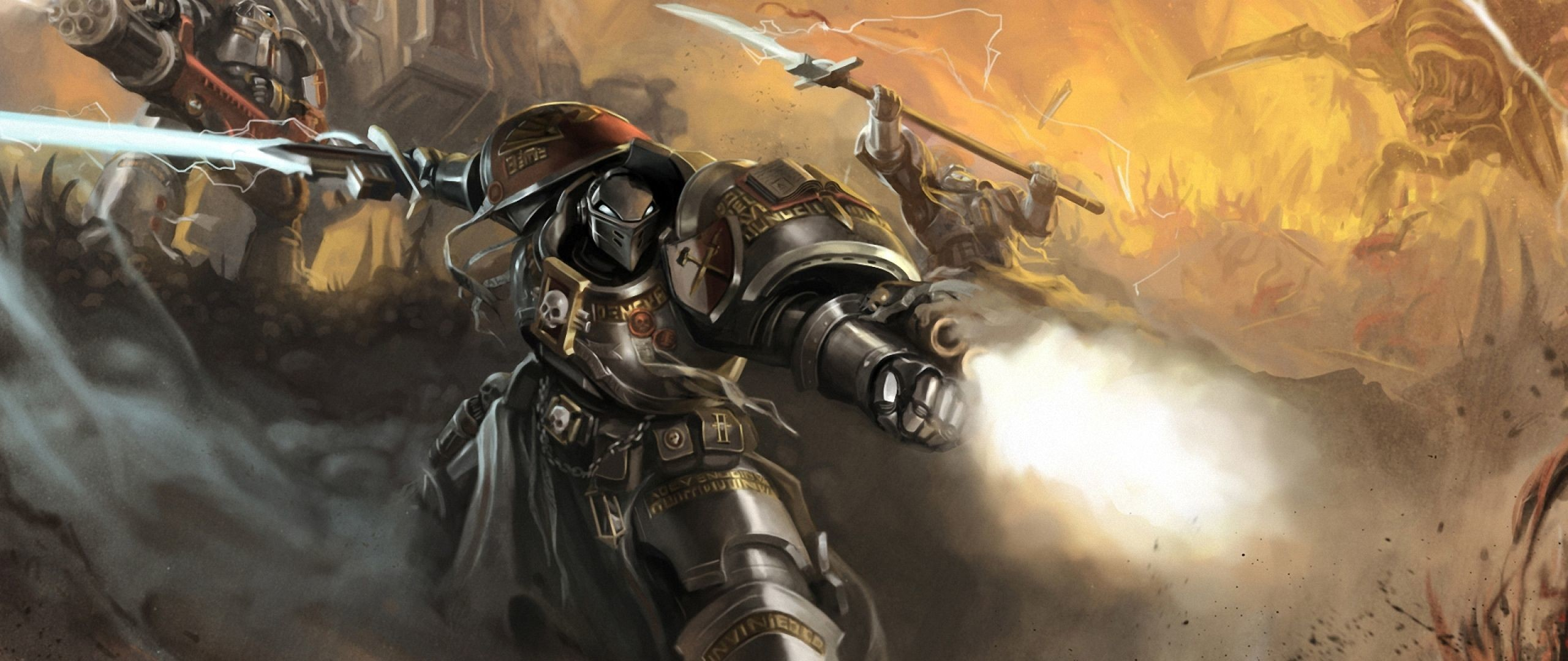 21:9 TV Warhammer 40k Wallpapers HD, Desktop Backgrounds .