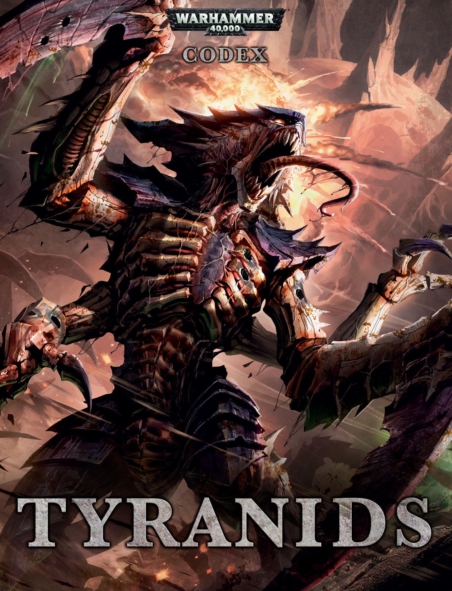 Tyranids Wallpaper Of codex: tyranids.
