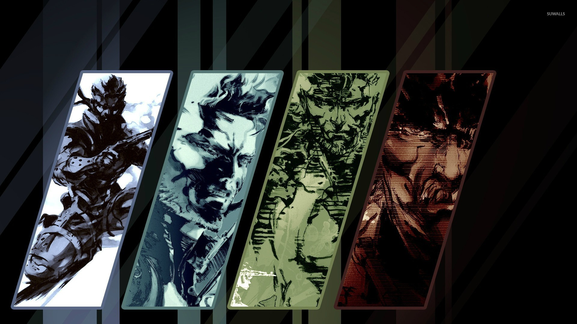 Metal Gear Solid Backgrounds Group 1920×1080