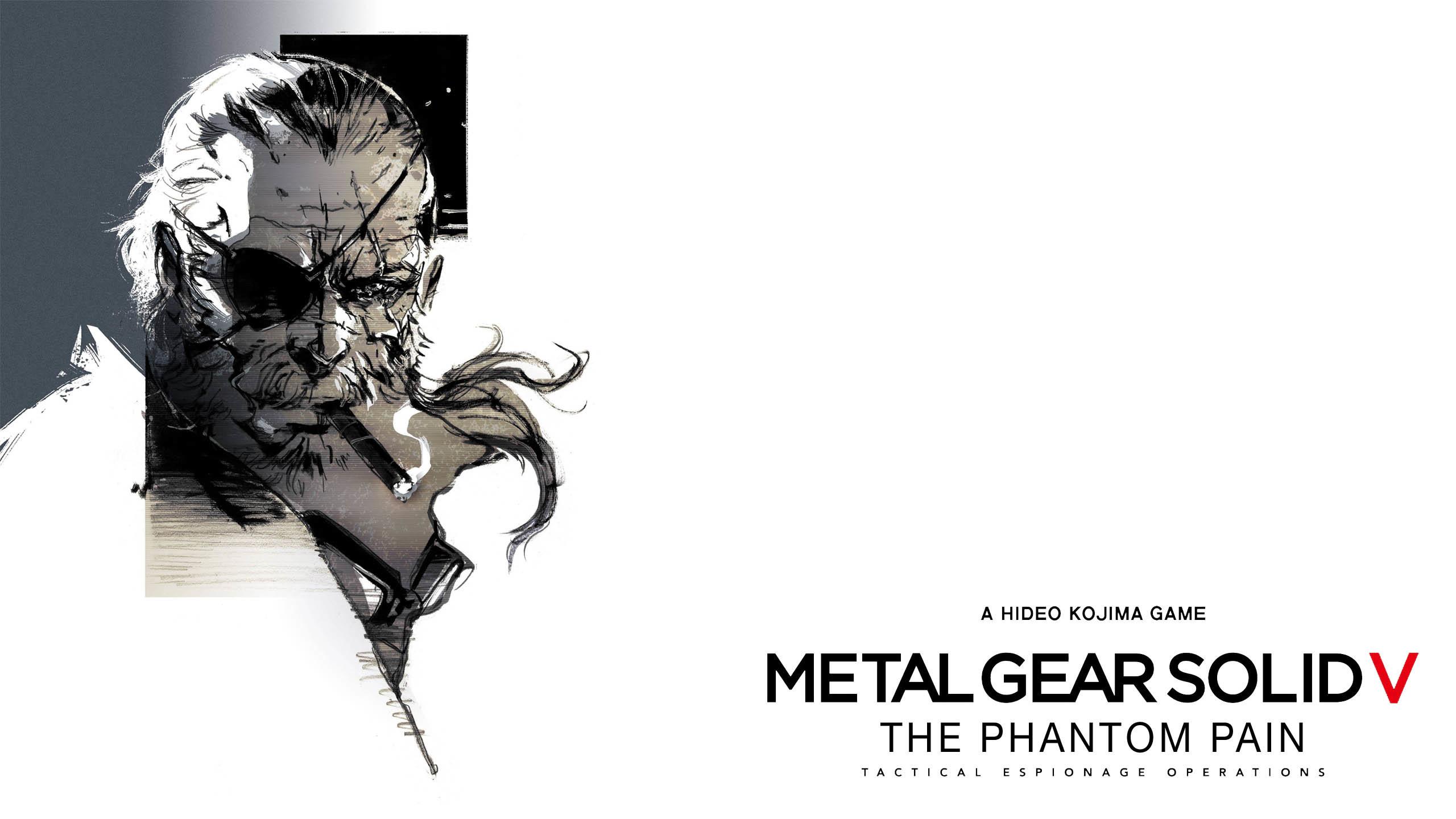 Metal Gear Solid V: The Phantom Pain Big Boss Artwork wallpaper