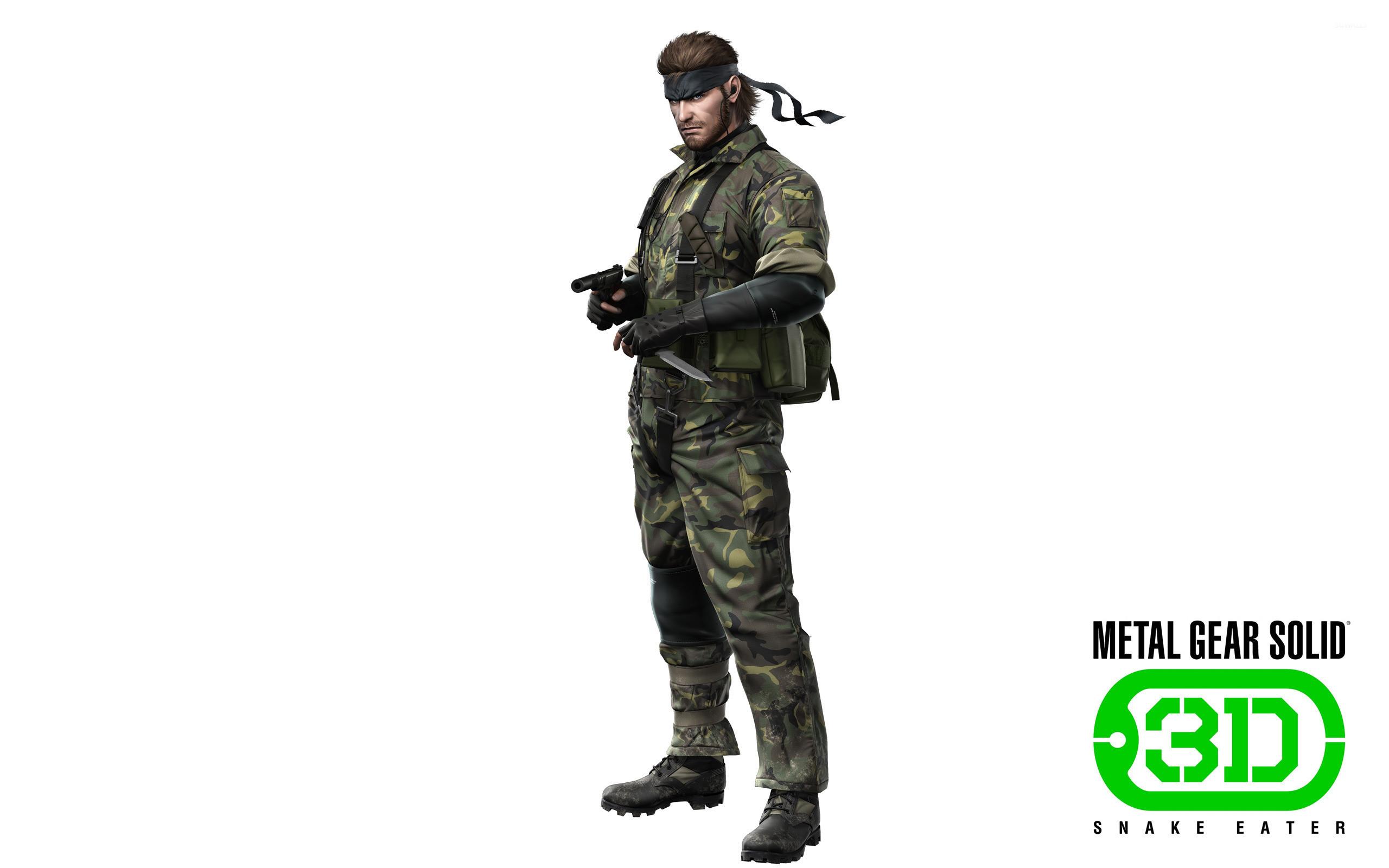 Metal Gear Solid: Snake Eater 3D [5] wallpaper jpg