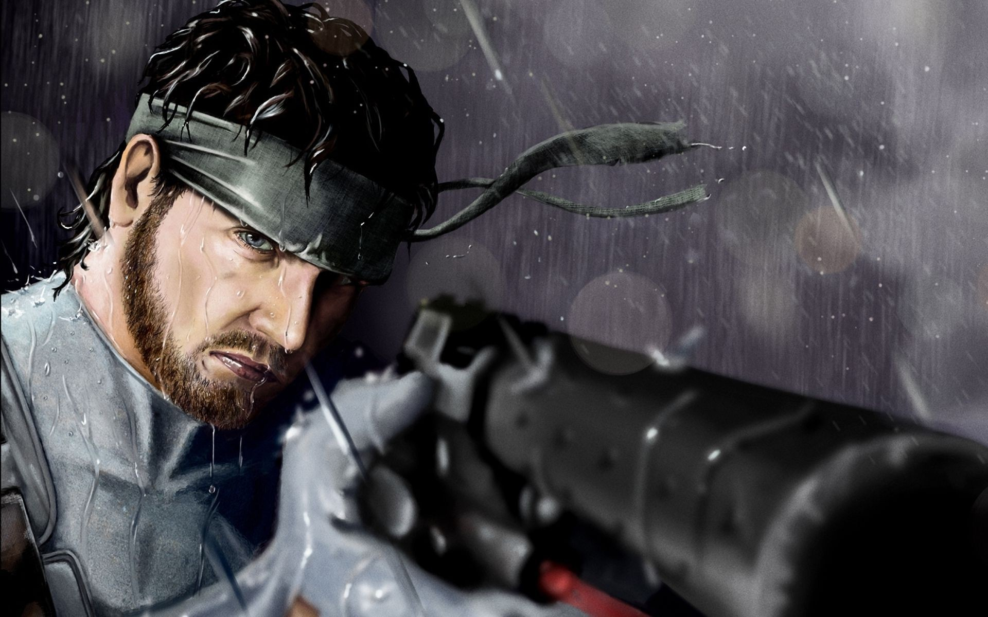 Metal Gear Solid Wallpaper Solid Snake Download