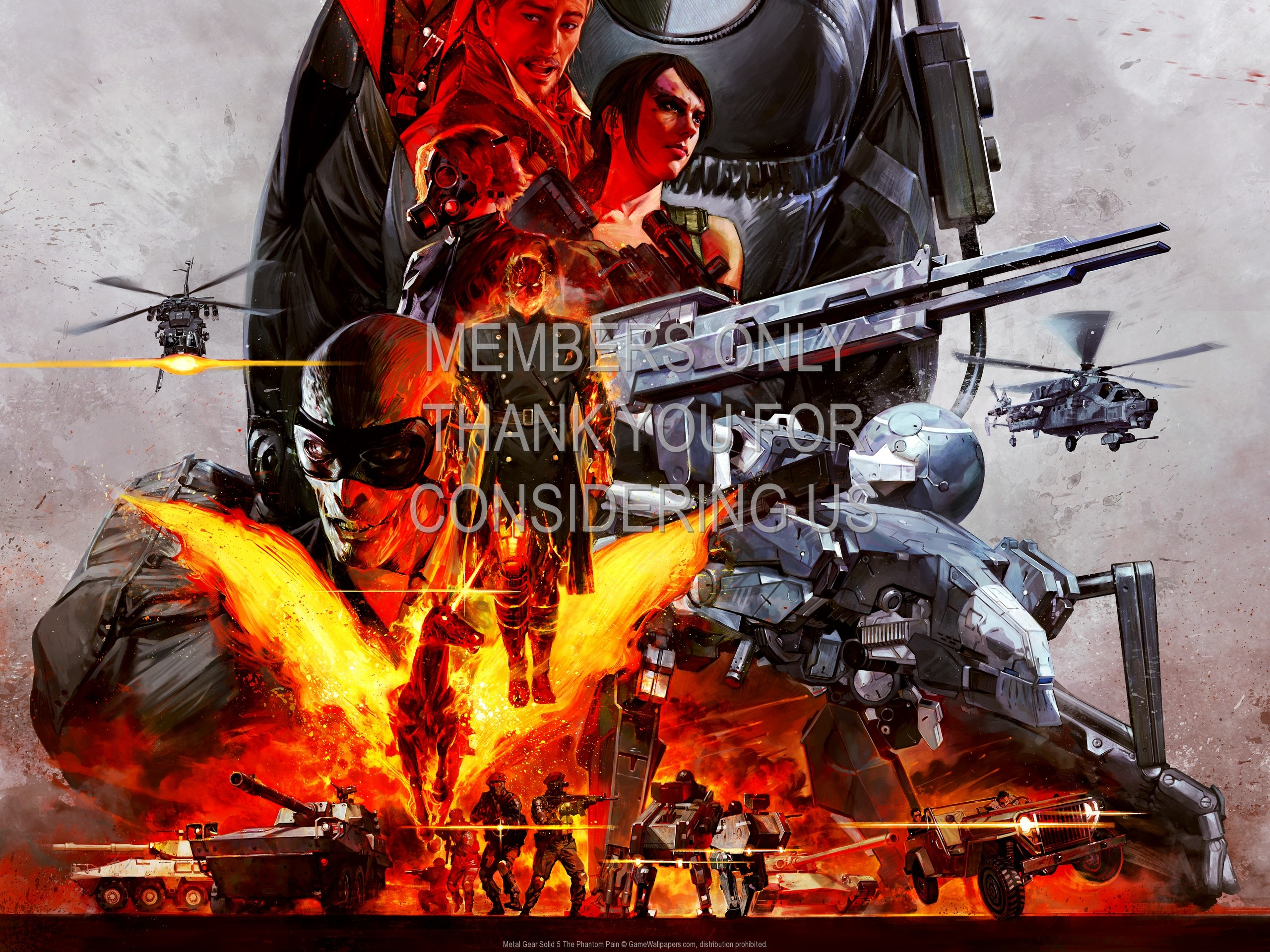 Metal Gear Solid 5: The Phantom Pain 1920×1080 Mobile wallpaper or  background 02