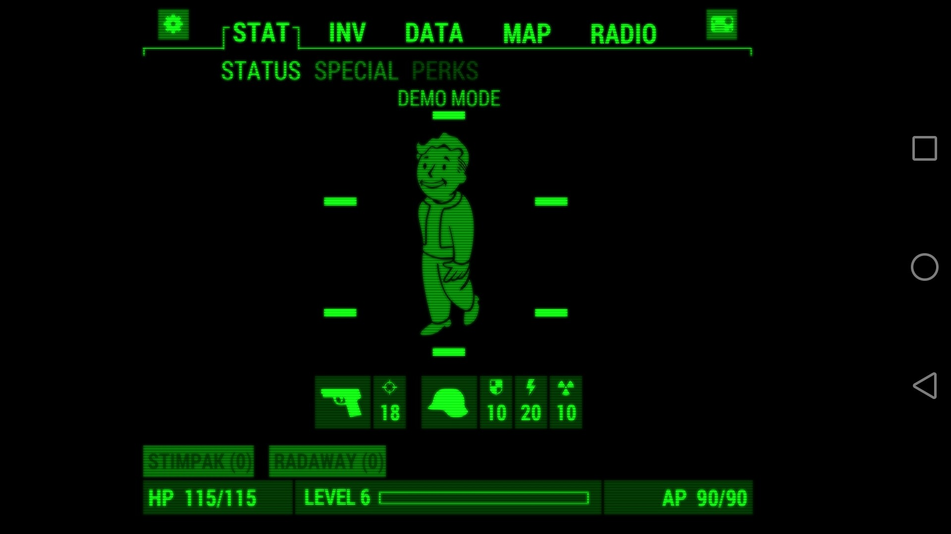 Pip-Boy: The App to have a second screen to play