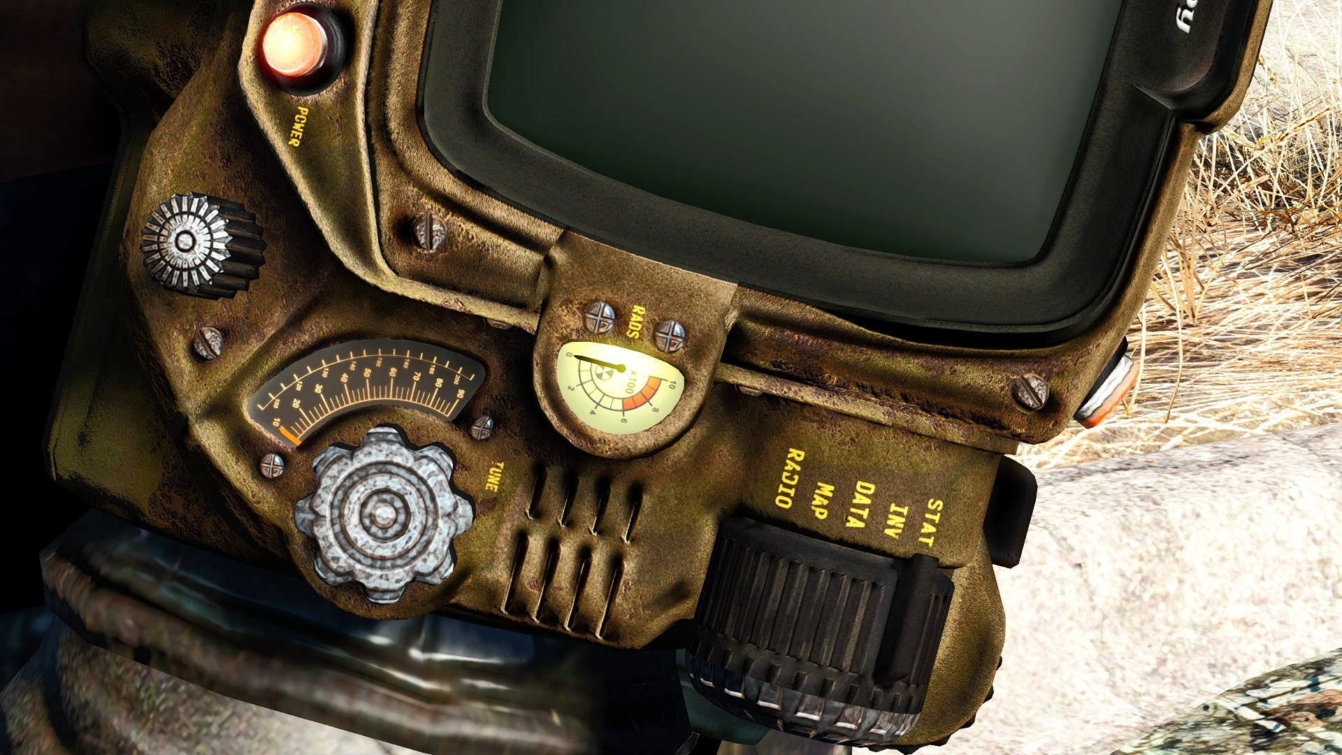 Fallout Texture Overhaul PipBoy (Pip-Boy) UHD 4K at Fallout 4 Nexus – Mods  and community