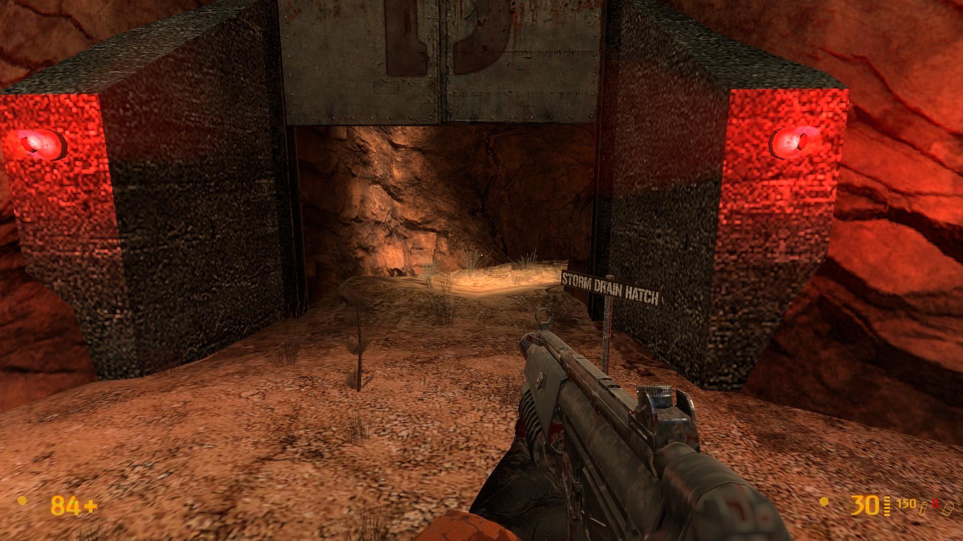 Black Mesa Wallpaper Storm Drain Hatch