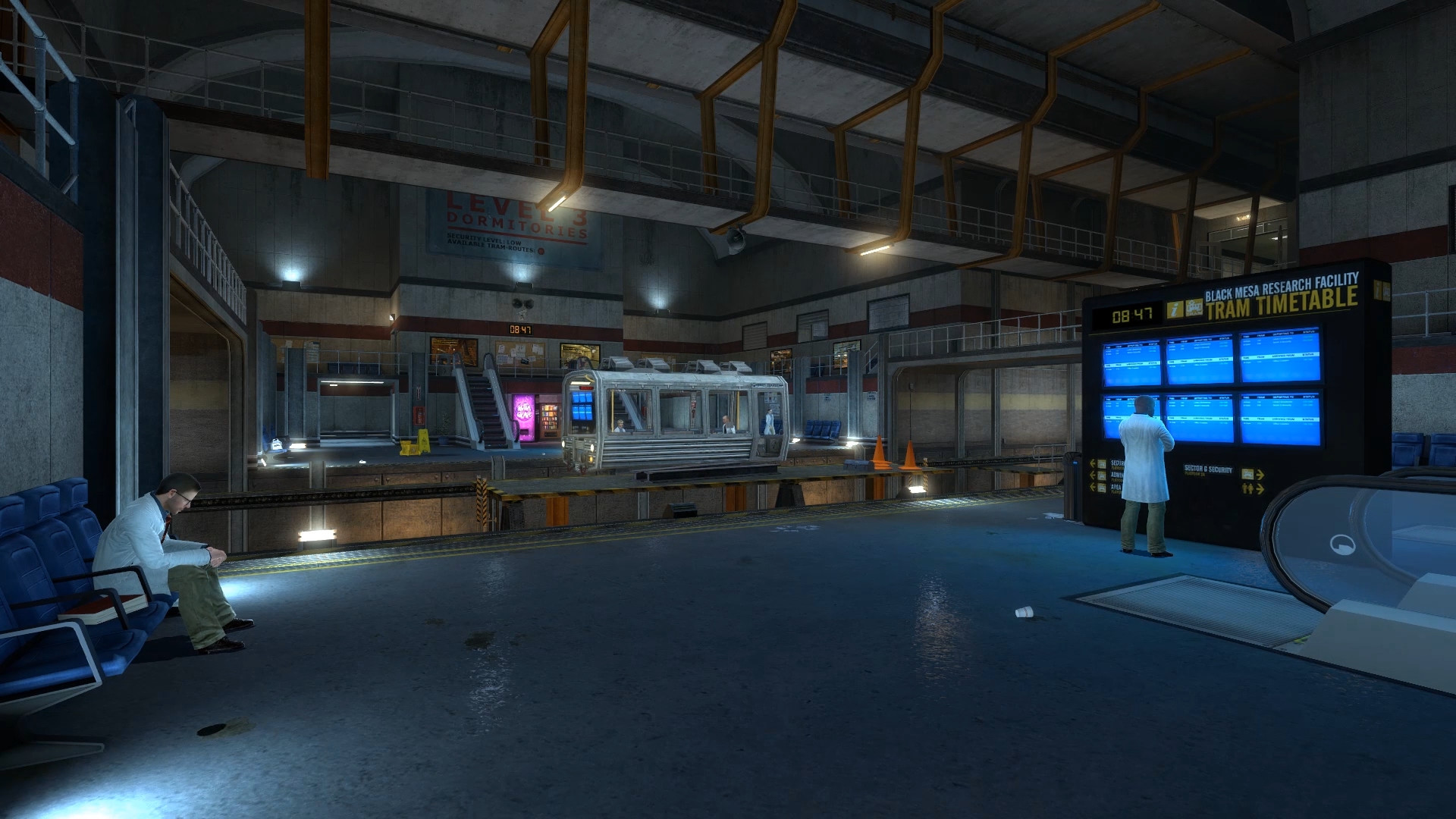 … Black Mesa Source Dreamscene by Vadya-Rus