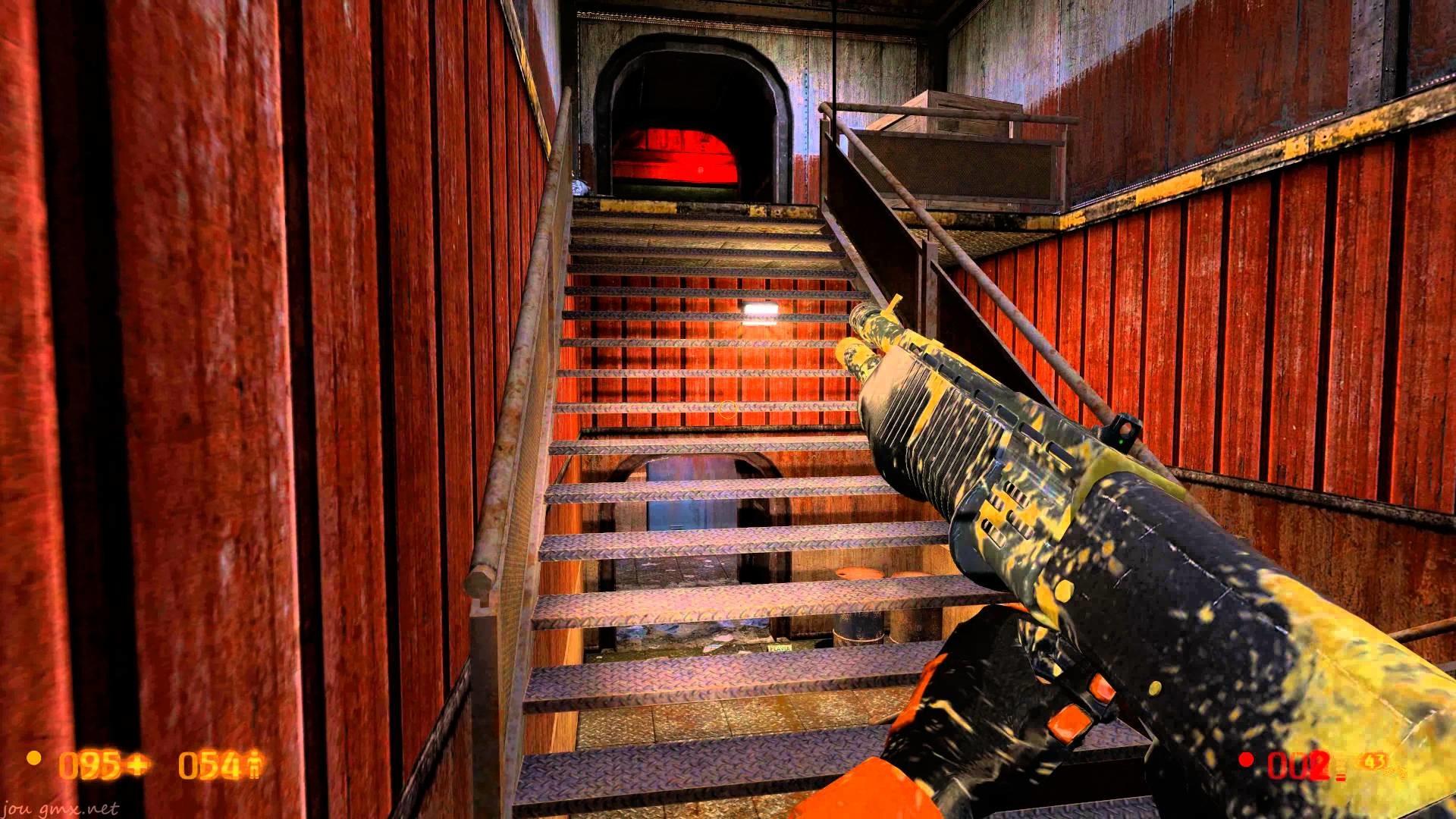 HL Black Mesa walkthrough part 4, 107m On A Rail, Apprehension, Residue  Proc. 4k Ultra HD
