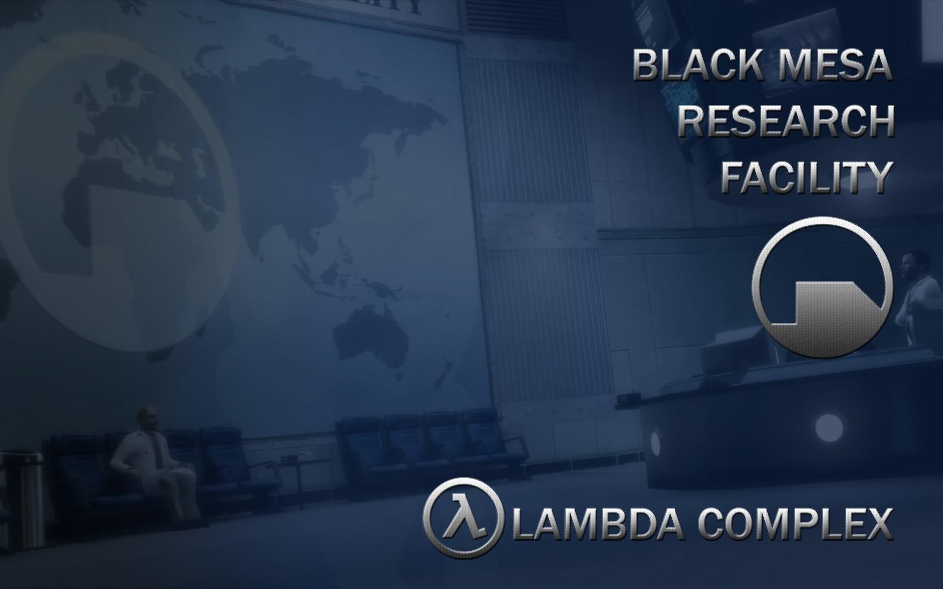 Black Mesa Themed Desktop/Login Screen… Comments?