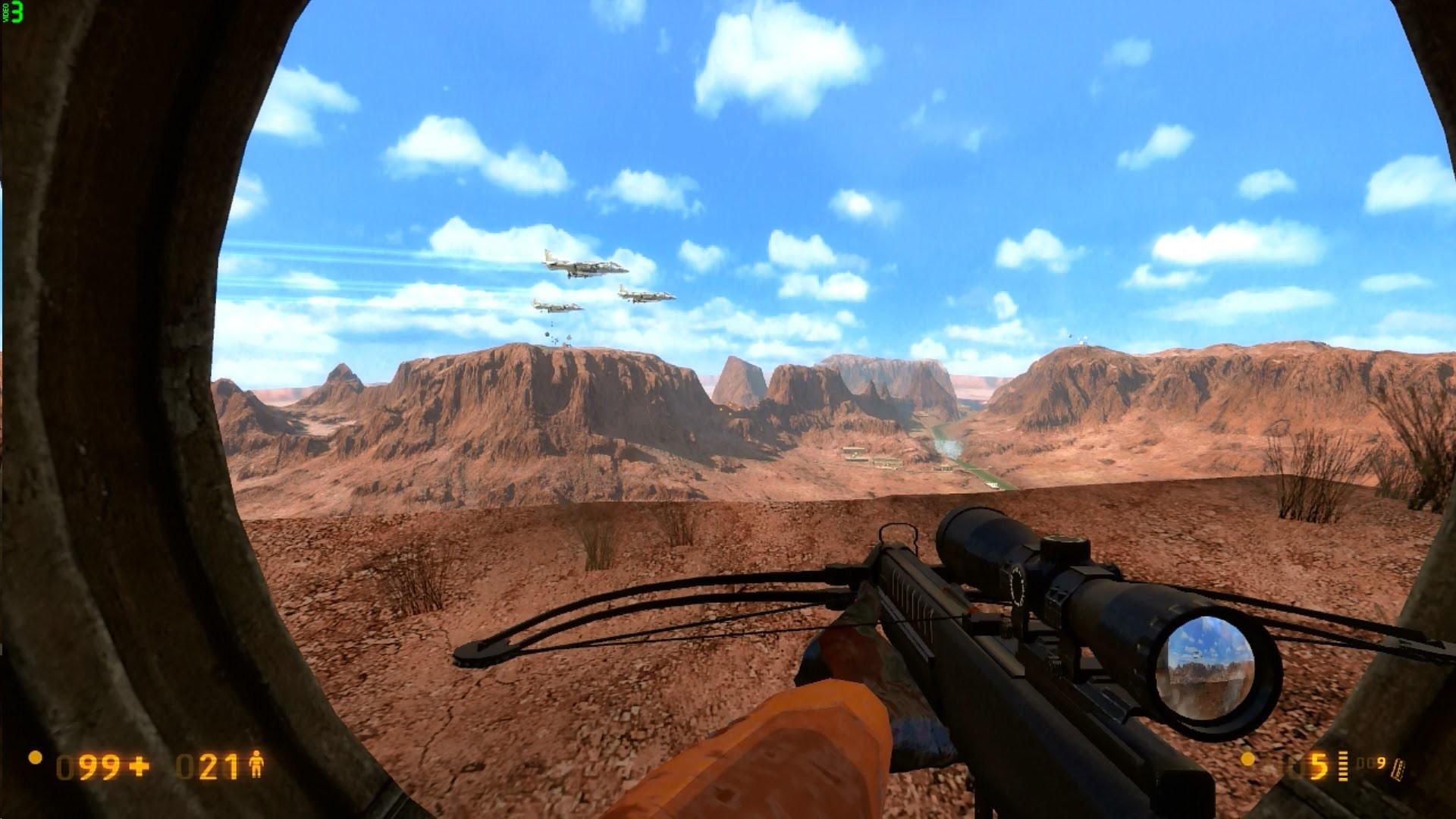 Black Mesa – SURFACE TENSION 2 – M4 & Crossbow