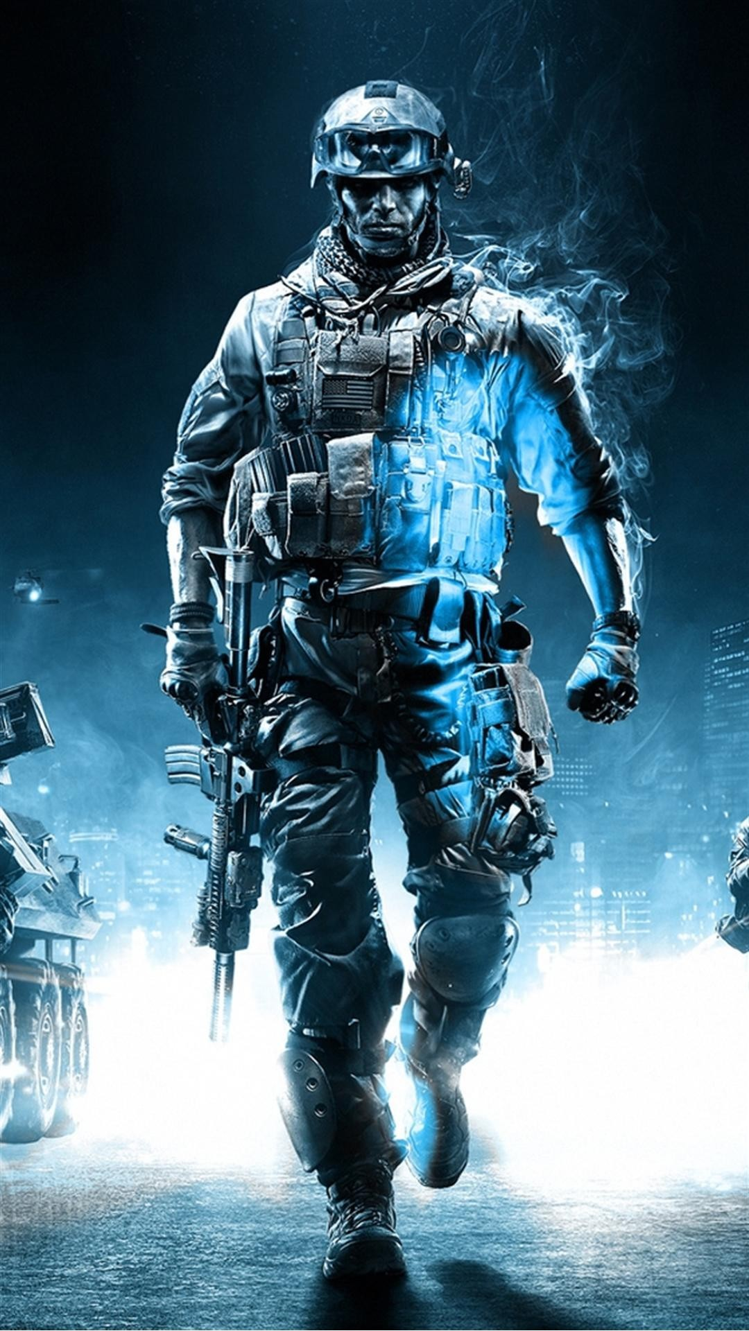 Call Of Duty Ghosts Soldier iPhone 6 Plus HD Wallpaper …