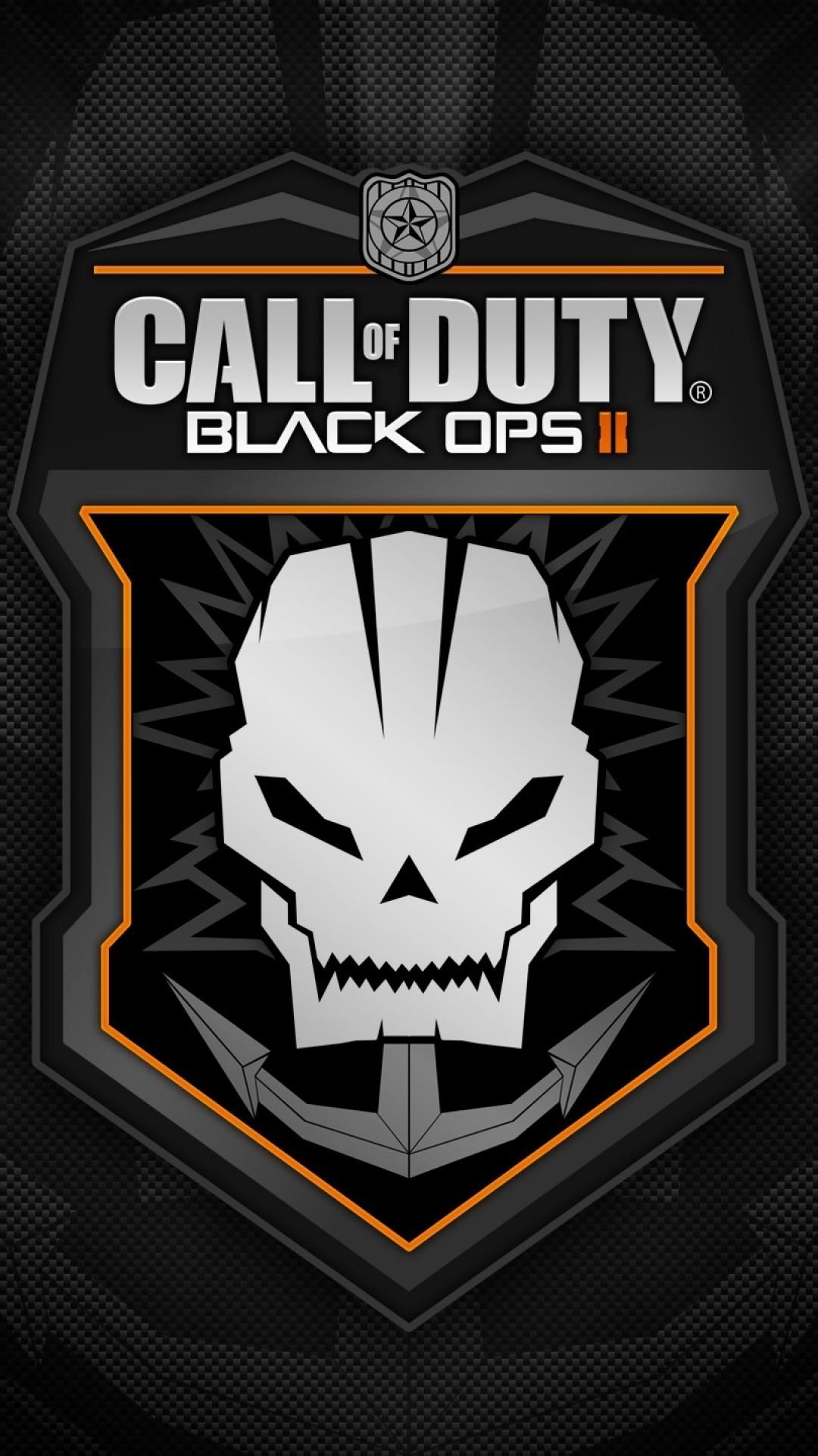 Call Of Duty: Black Ops 2, Logo, Skull, Cod