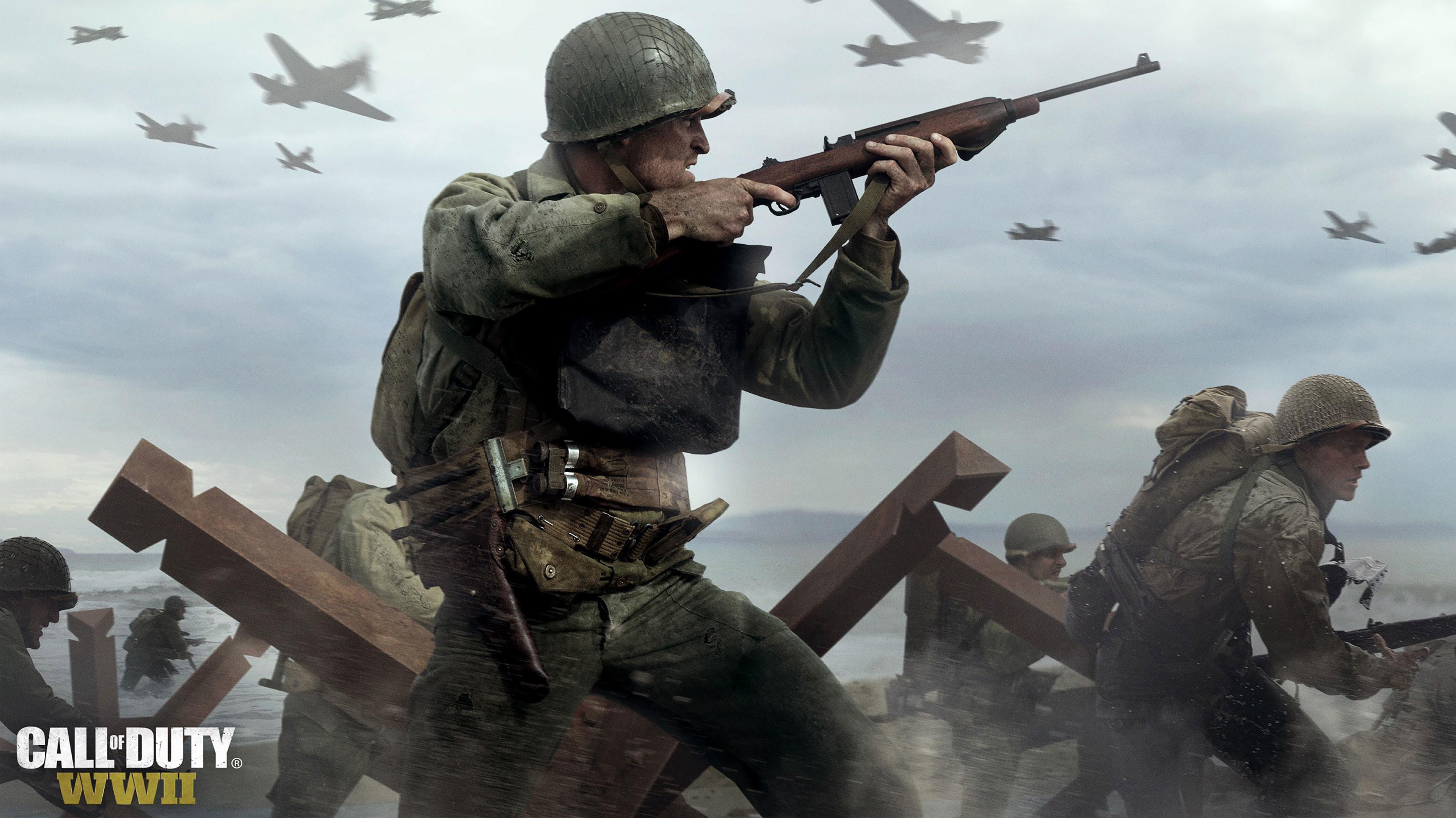 CALL OF DUTY WWII 4K Wallpaper …