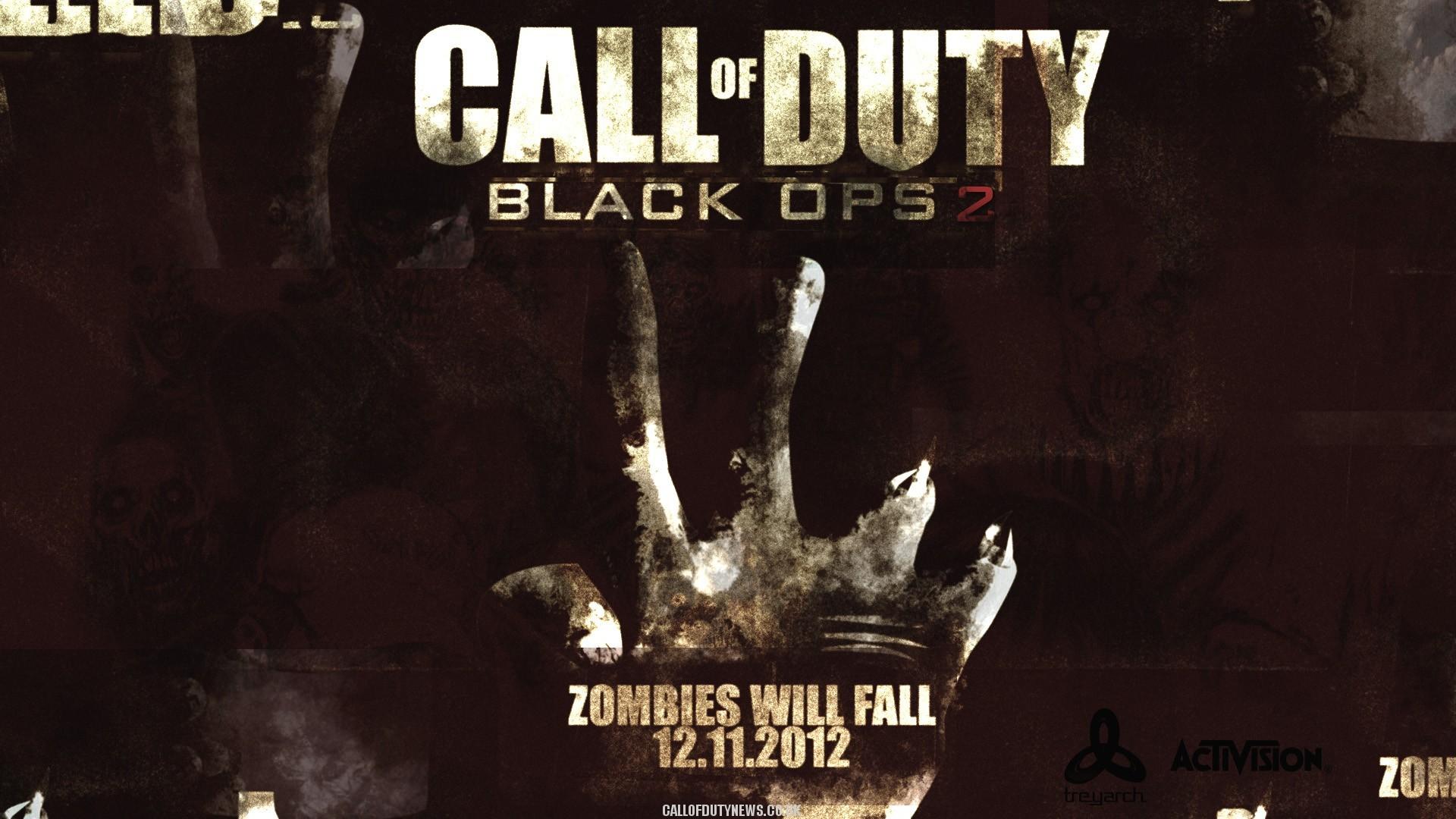 Cod Black Ops   Call Of Duty Black Ops 2 Zombies Wallpaper Hd