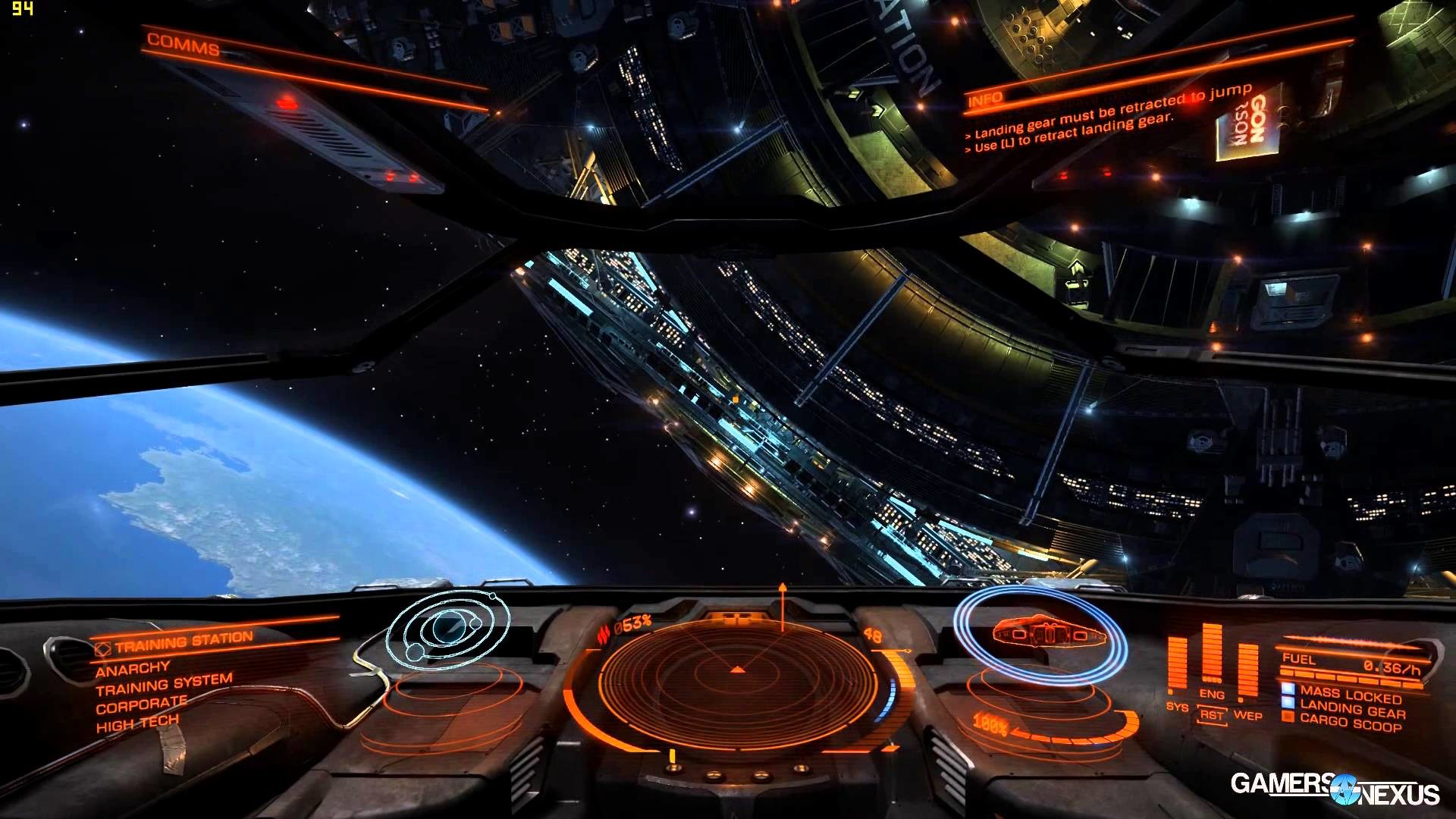 Elite: Dangerous 1080 & 4K GPU Benchmark FPS