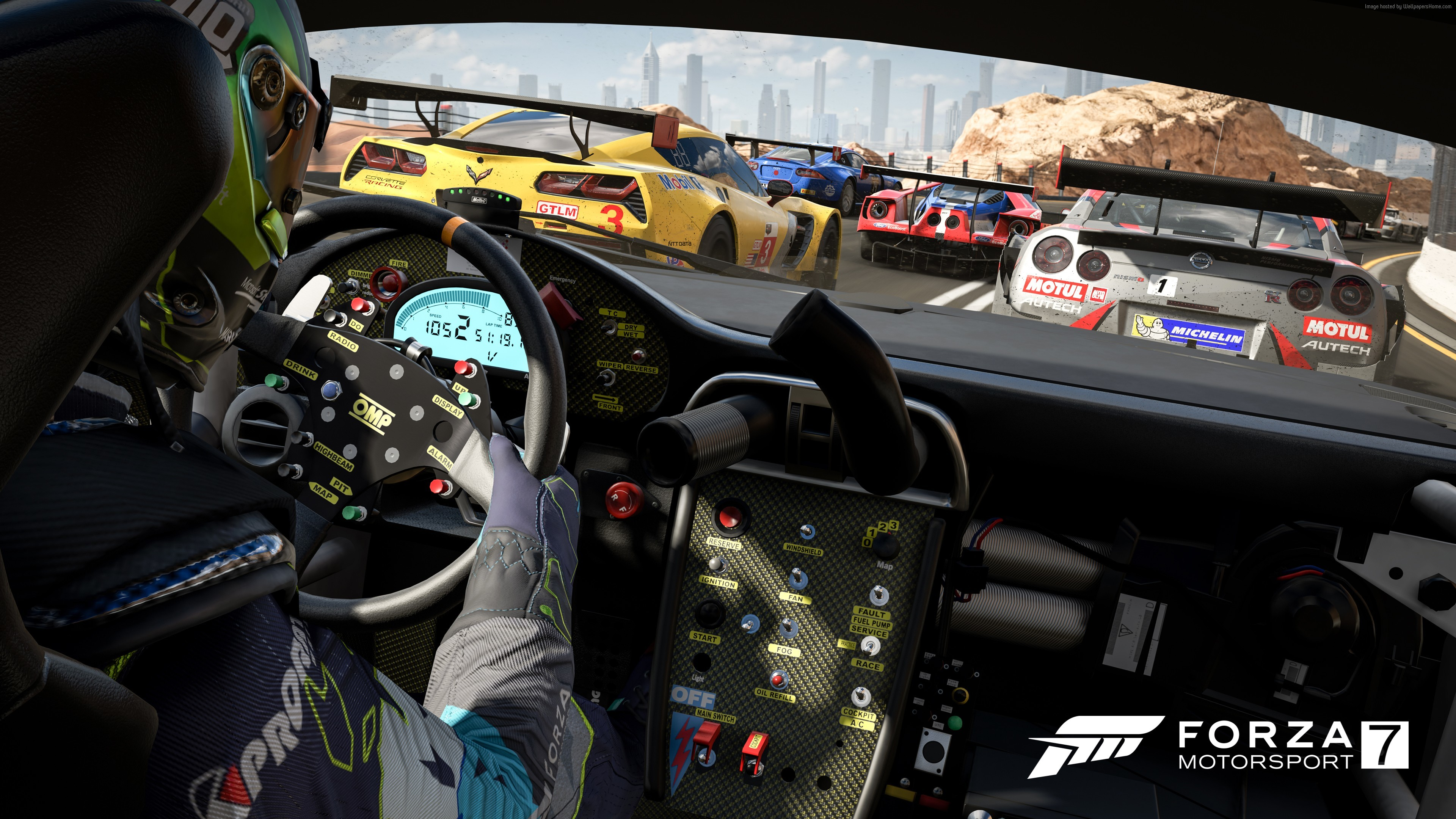 Forza Motorsport 7, 4k, E3 2017, Xbox One X (horizontal) …