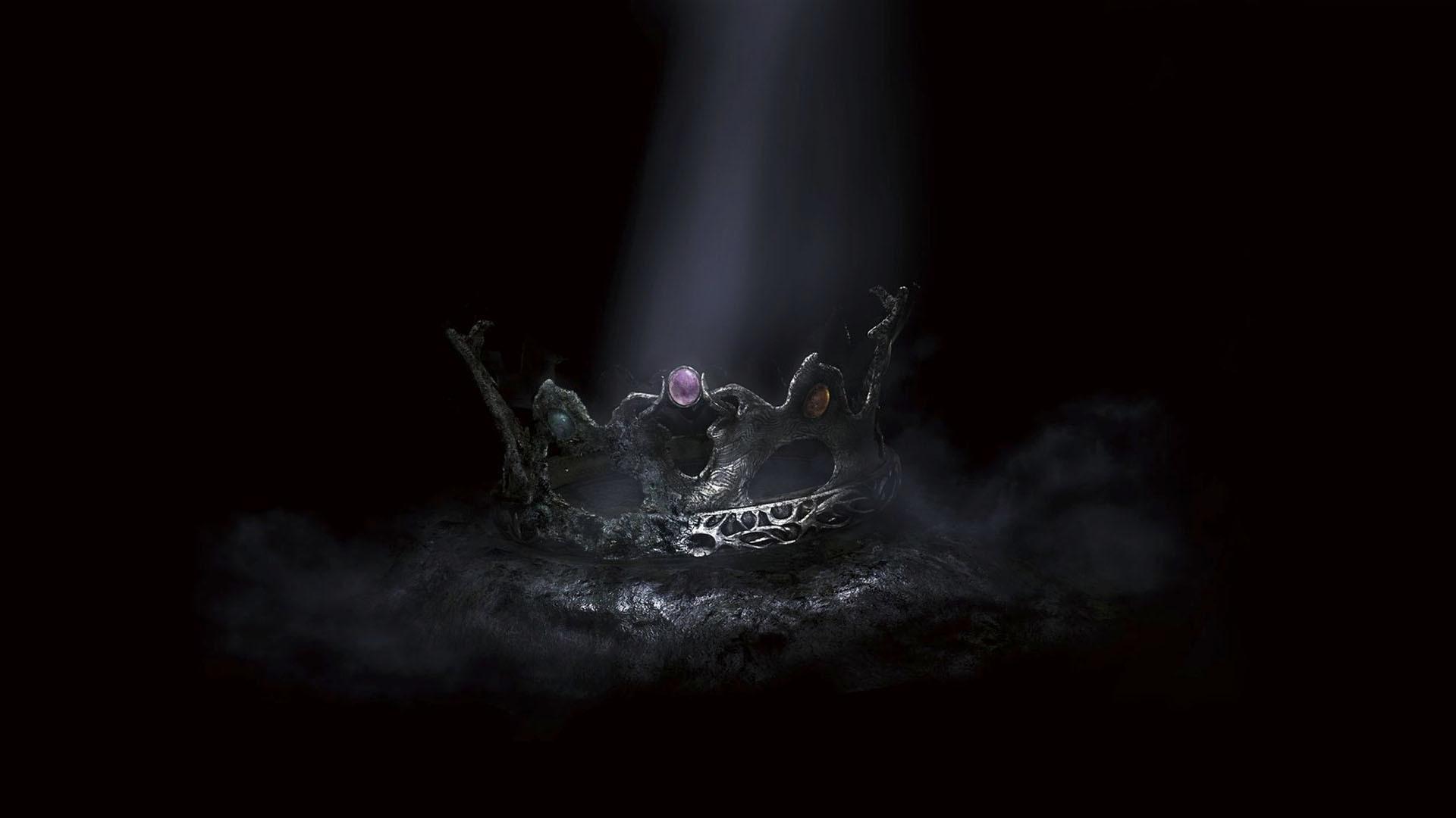 Wallpaper dark souls 2, crown of the sunken king, crown