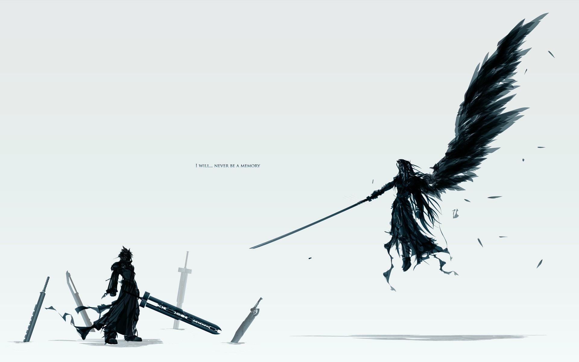 wallpaper Final Fantasy · Sephiroth · Cloud Strife
