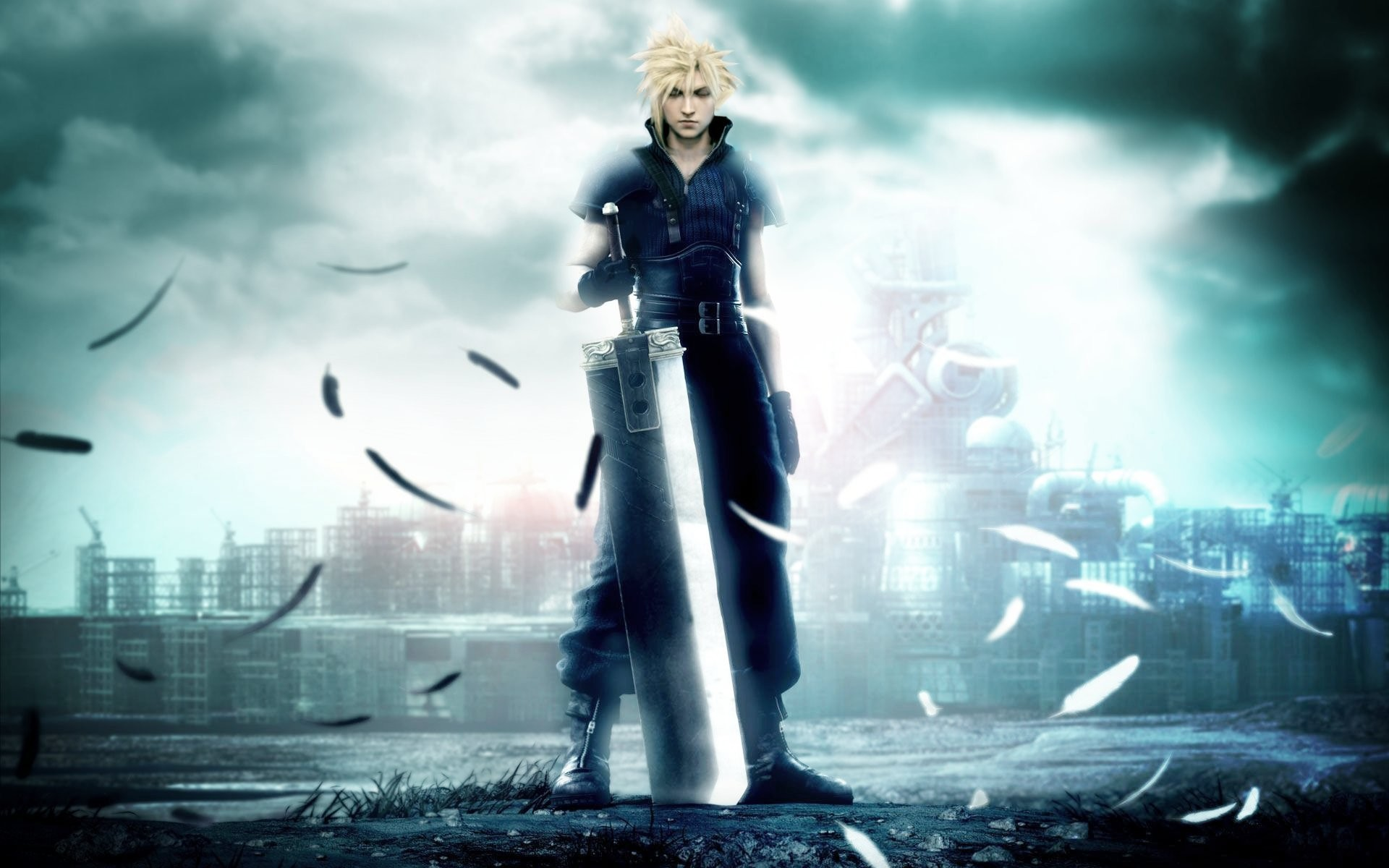 Final Fantasy HD Wallpapers Backgrounds Wallpaper · Cloud StrifeFinal …