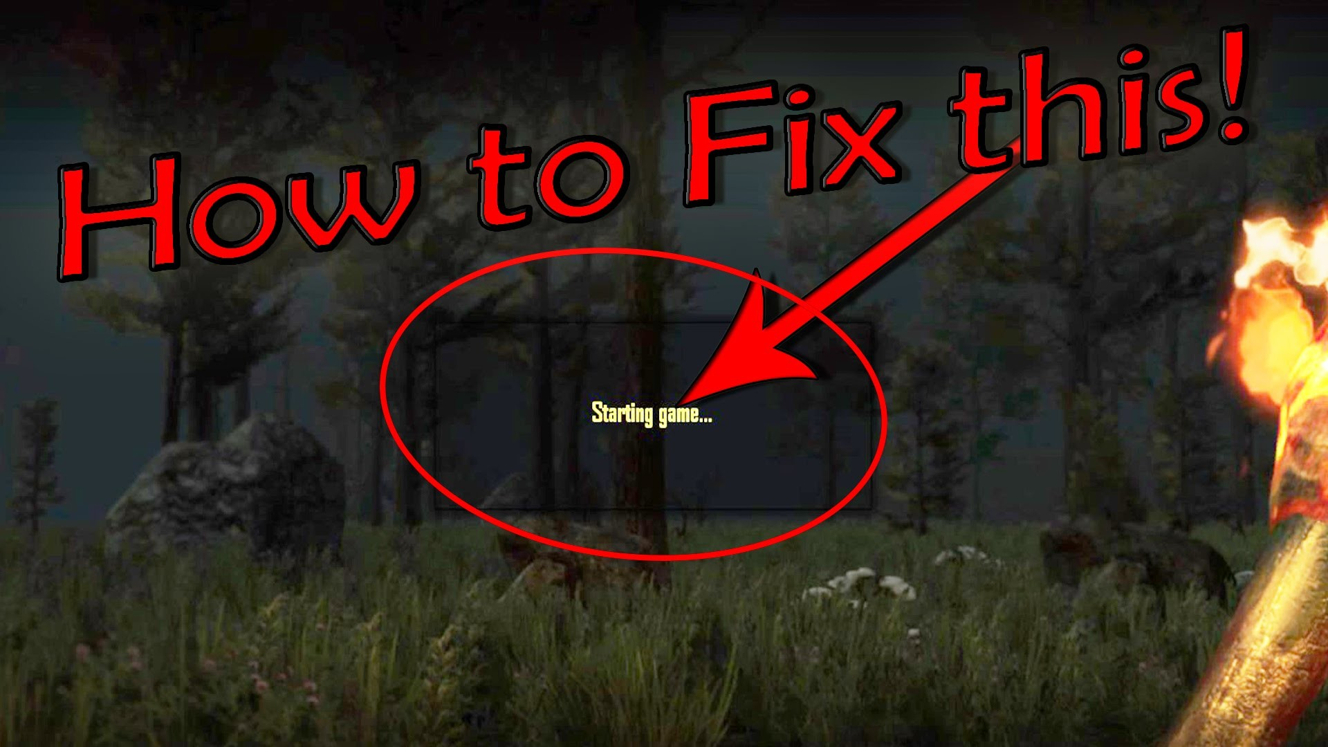 7 DAYS TO DIE PS4 & XBOX WORLD CORRUPT / LOADING ENVIRONMENT FIX*