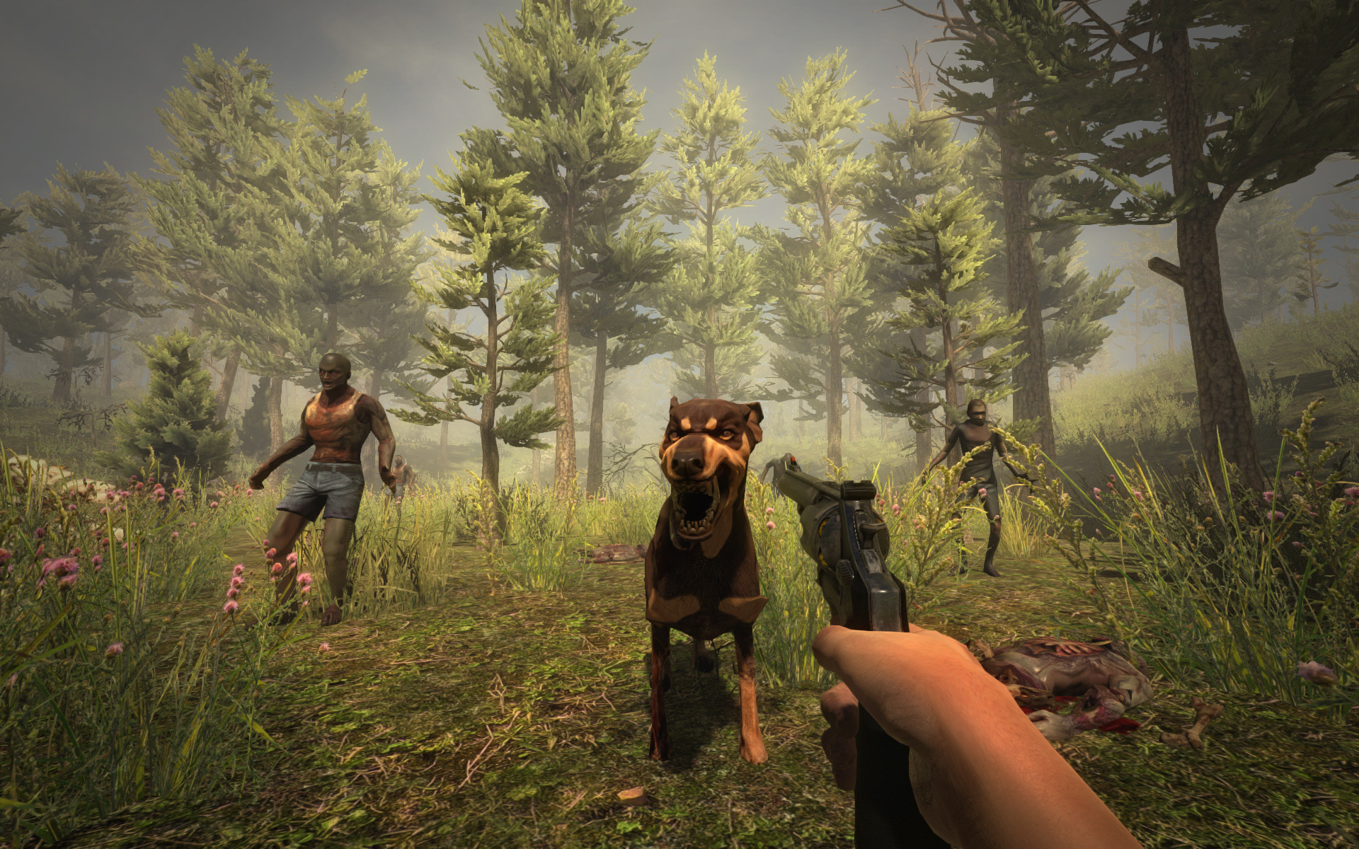 Alpha_11_pine_forest_01. 7 Days to Die …