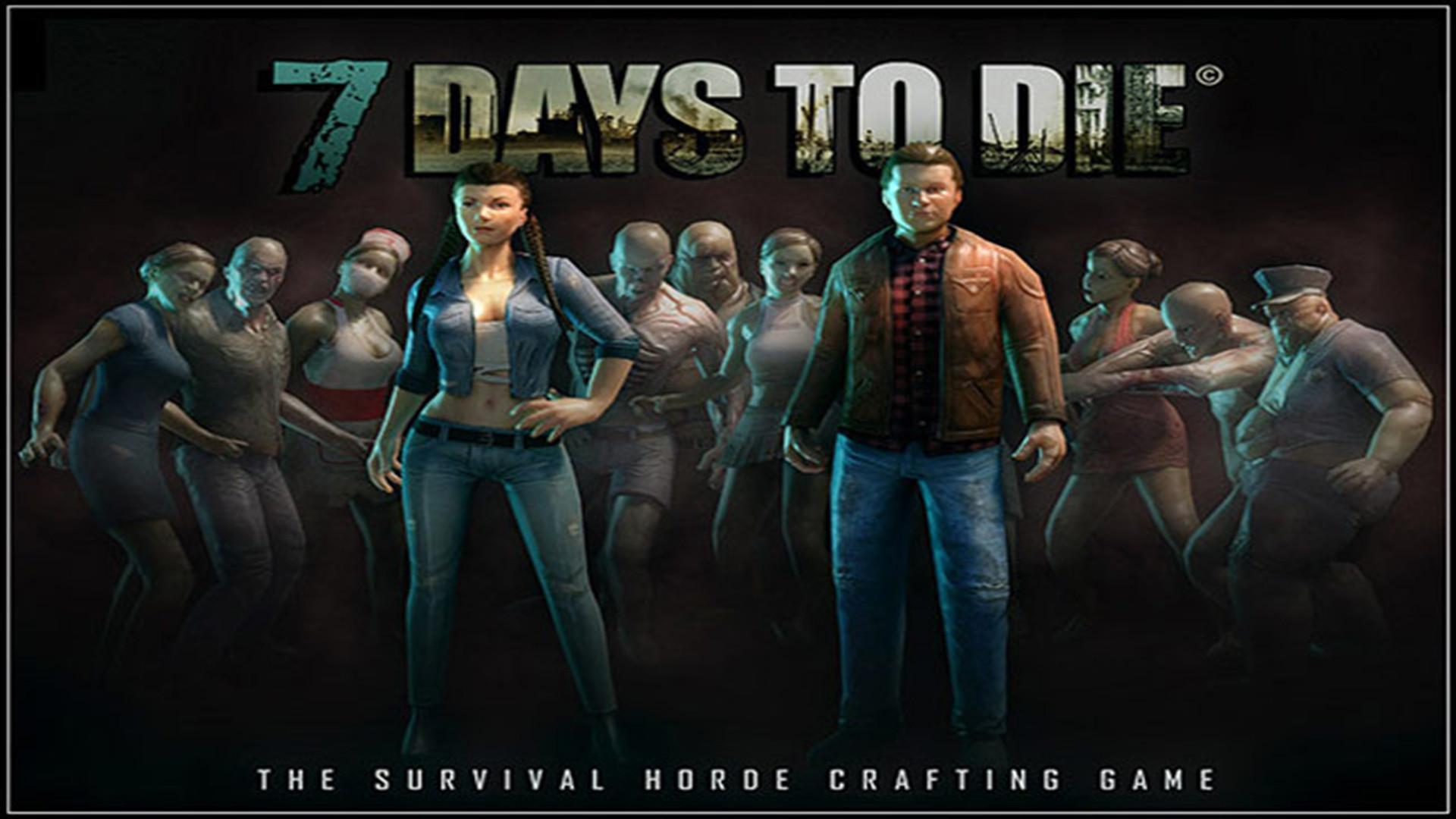 … 7 Days to Die – Fanart – Background …