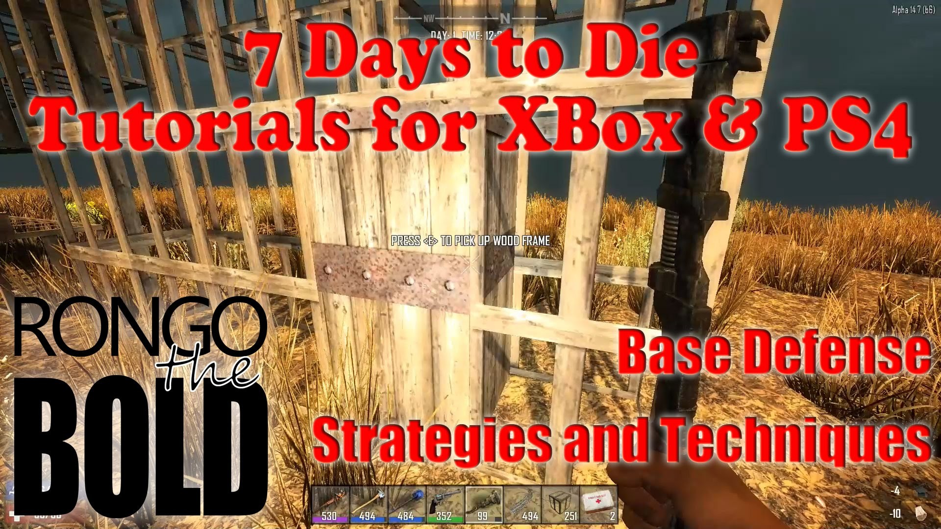 7 Days to Die Tutorial Series for PS4 & XBox One – Base Defense Strategies  – YouTube