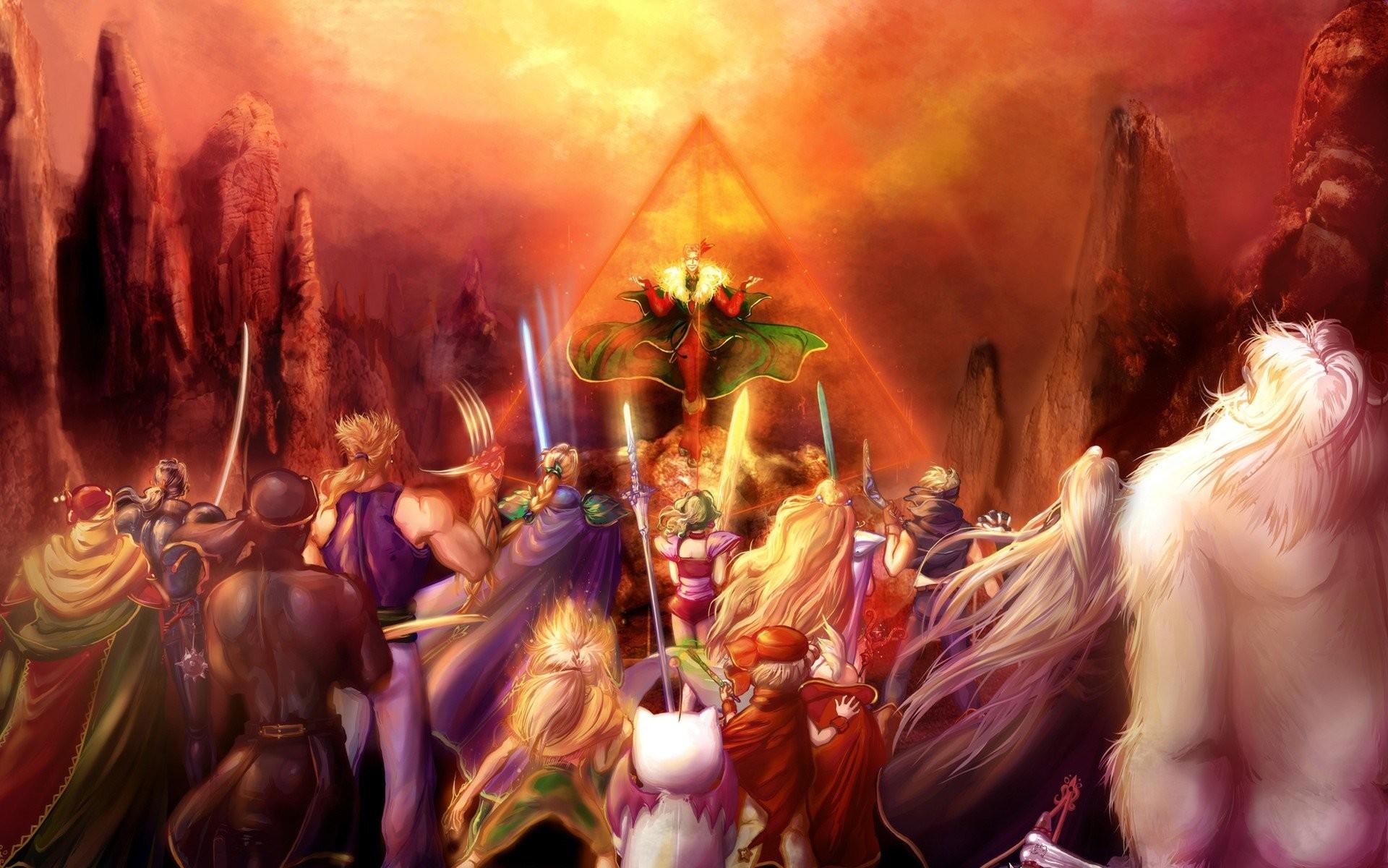 Final Fantasy VI Locke Cole Terra Branford Kefka Palazzo …