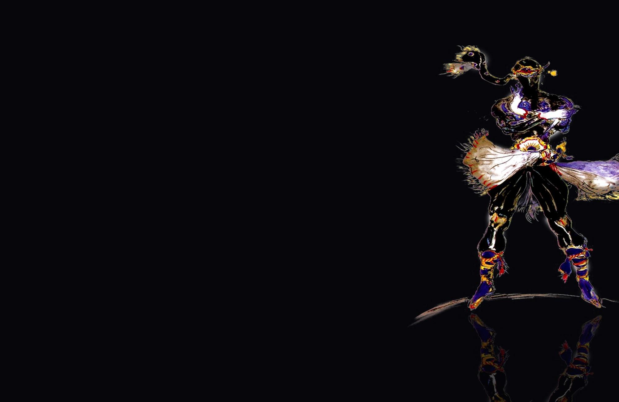 final fantasy vi shadow six ff6 blackhound HD Wallpaper