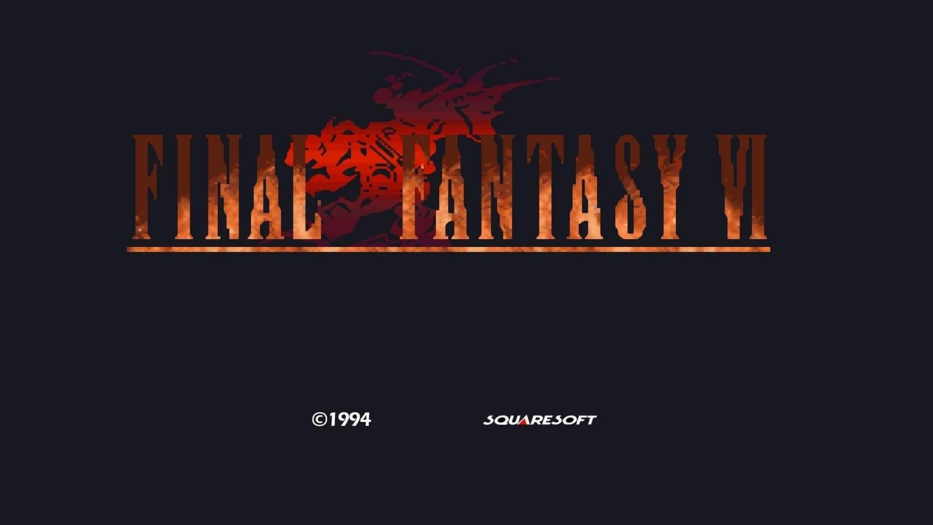 Final Fantasy 6 Title Screen