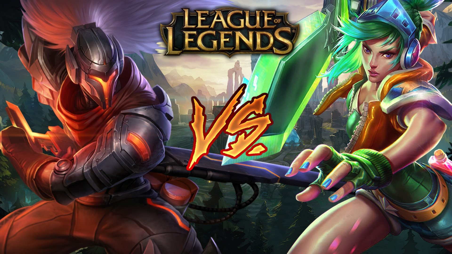 Project Yasuo vs Arcade Riven League of Legends Full Game Commentary S5 –  YouTube