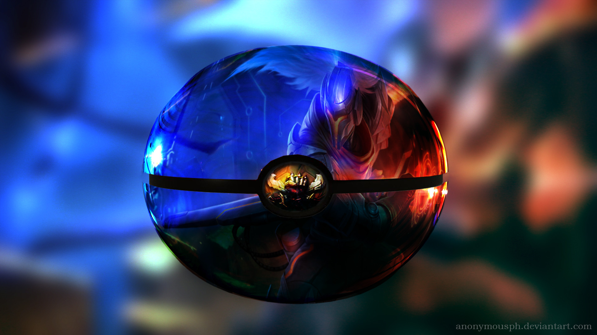 … League of Legends – Project Yasuo in a pokeball by AnonymousPH
