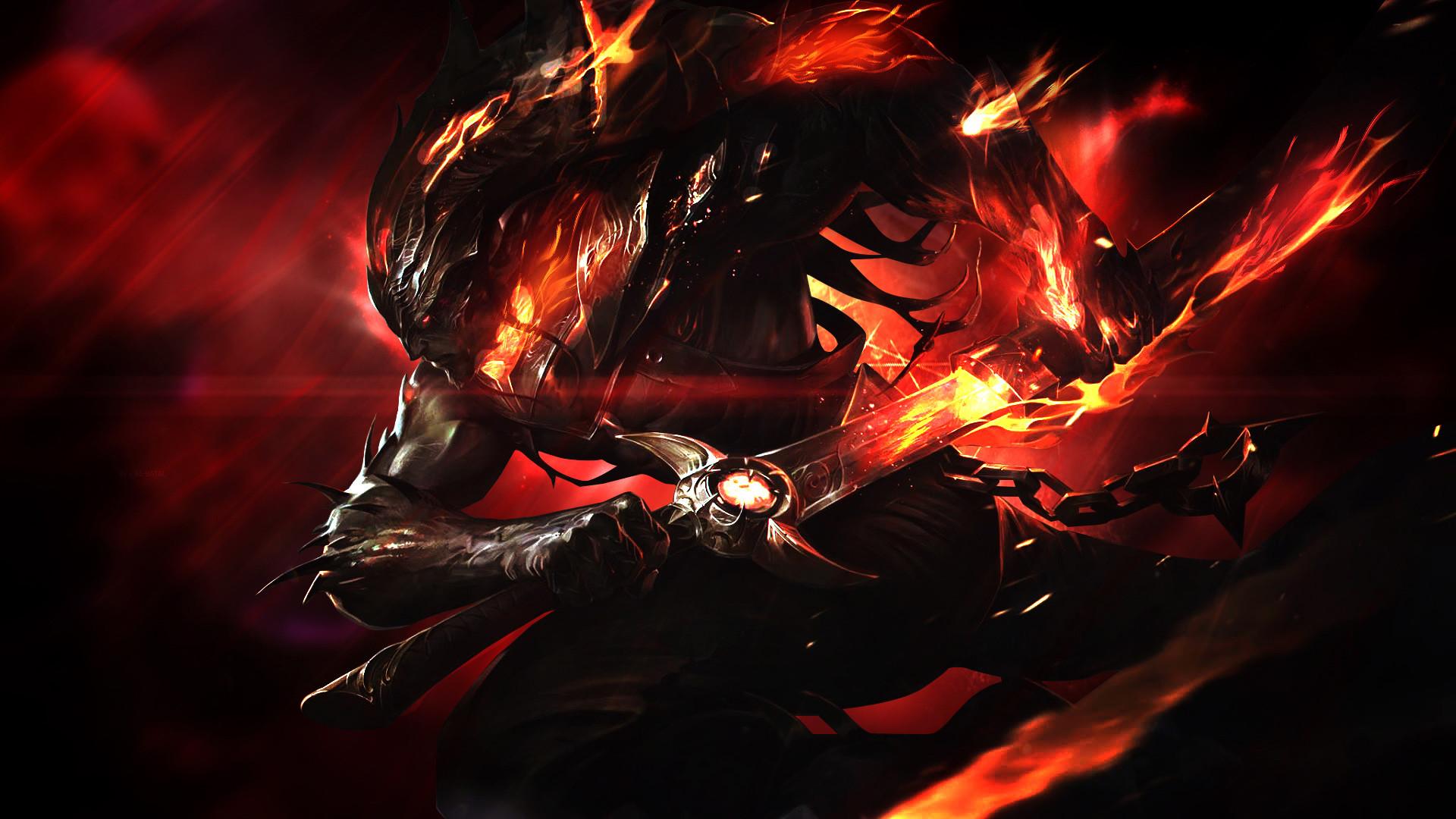 Nightbringer Yasuo by Mr-Booker HD Wallpaper Background Fan Art Artwork  League of Legends lol