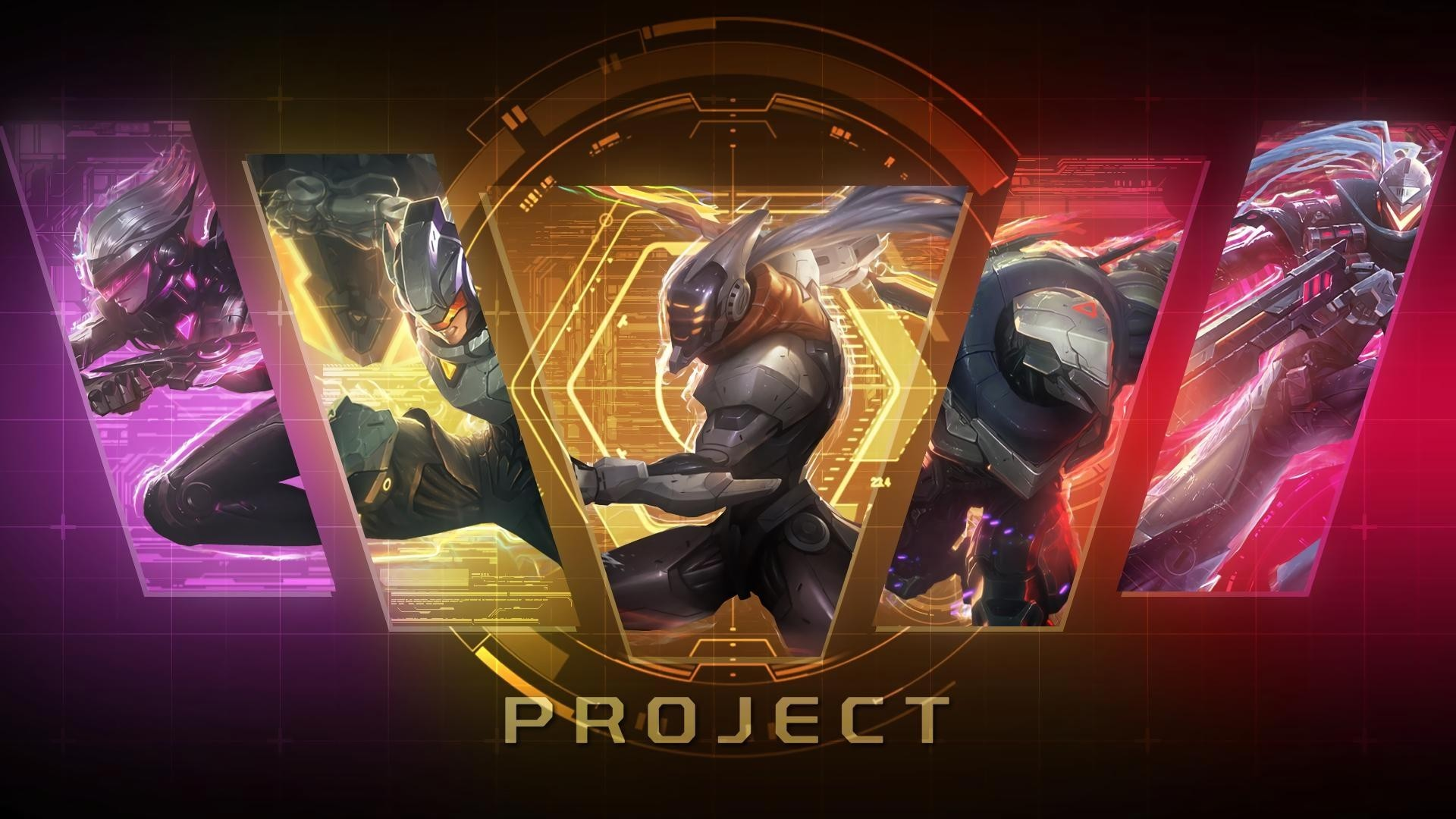 #League of Legends, #Project Skin   Wallpaper No. 258494 .