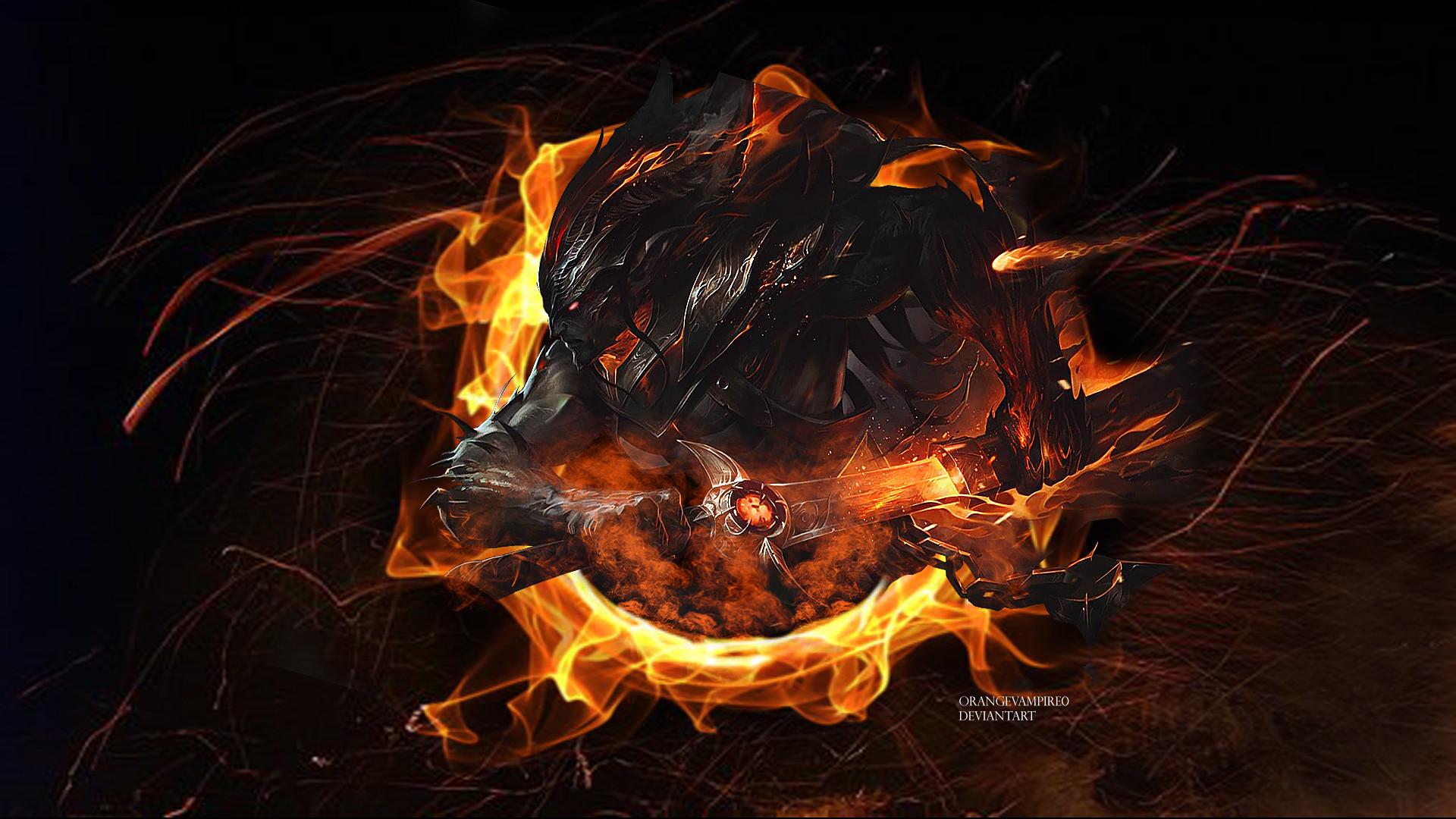 Nightbringer Yasuo by orangevampire0 HD Wallpaper Background Fan Art  Artwork League of Legends lol