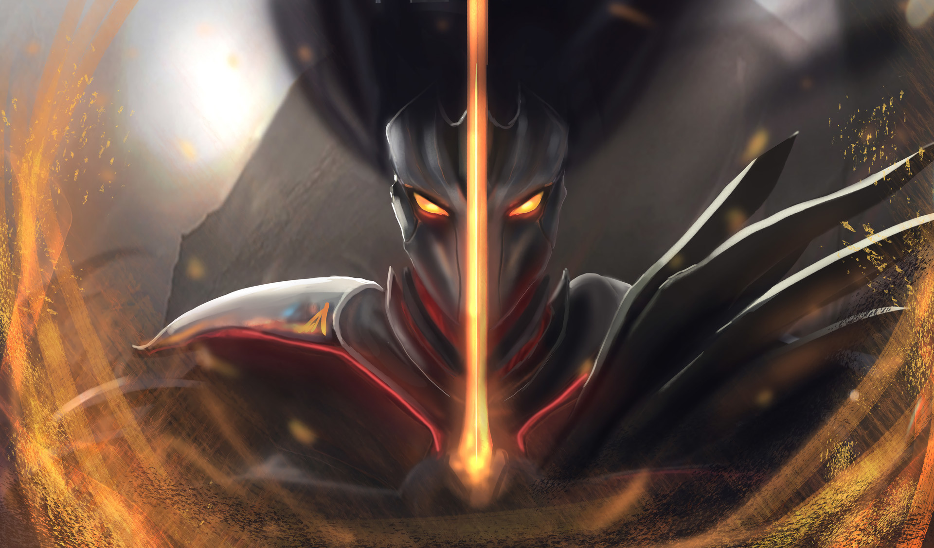 Nightbringer Yasuo by Erik Quinn HD Wallpaper Background Fan Art Artwork  League of Legends lol