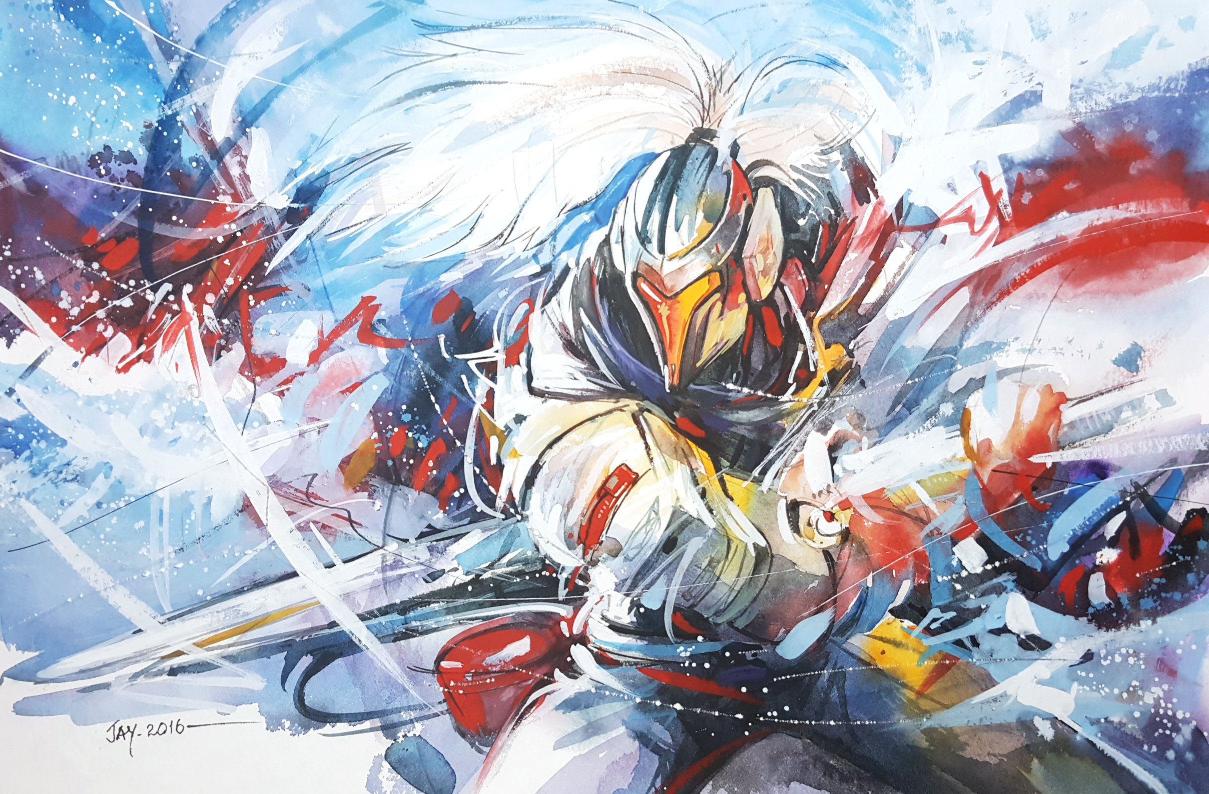 … League of legends – Project Yasuo by Abstractmusiq